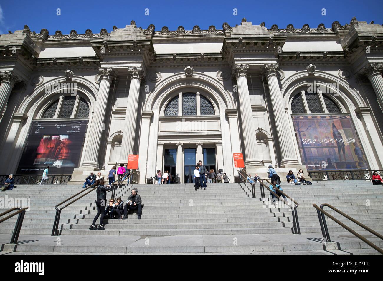 Metropolitan Museum Of Art New York Stock Photos