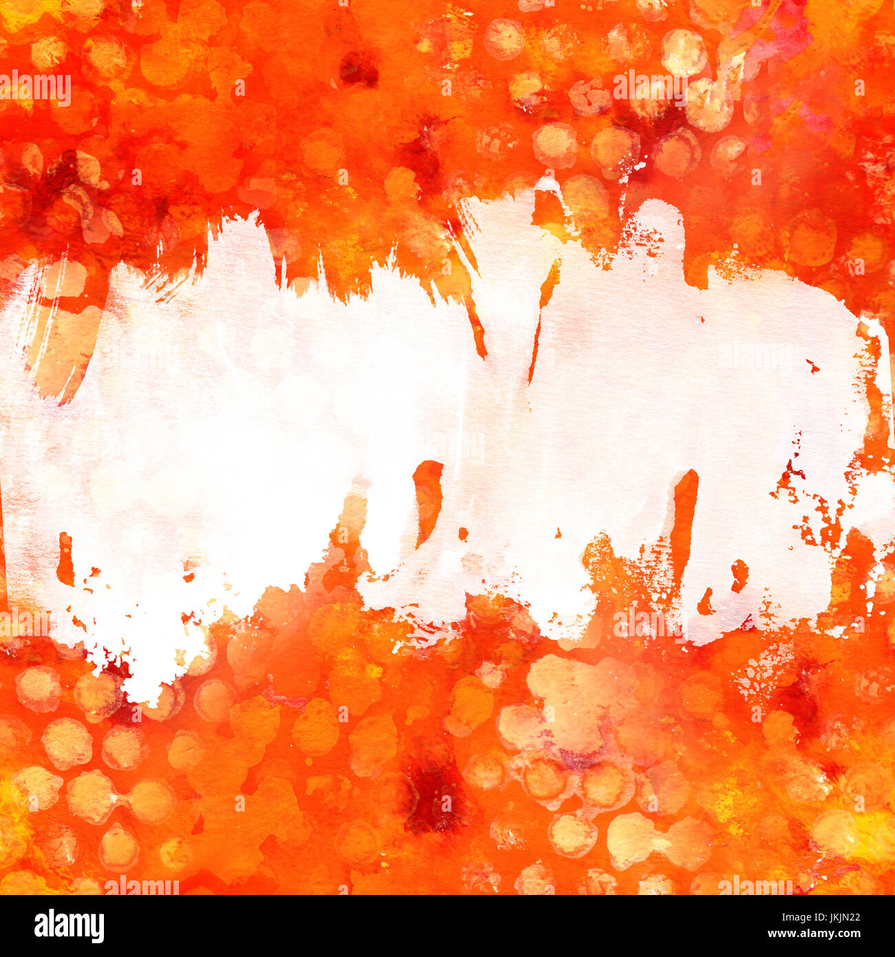 Red and yellow background texture with copy space - Stock Image