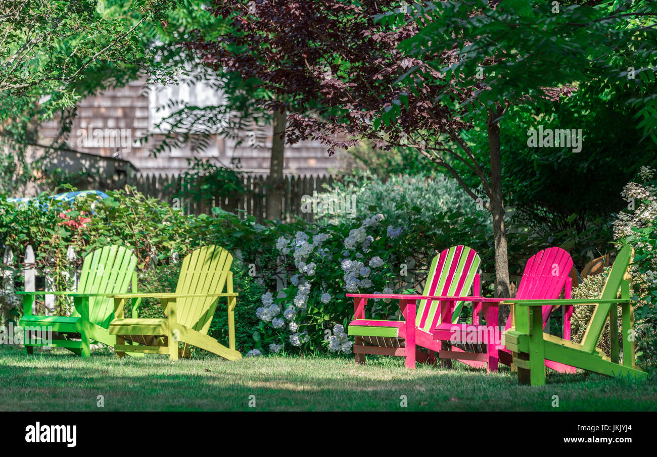 Admirable Five Outdoor Lounge Chairs Of Various Colors In An East Caraccident5 Cool Chair Designs And Ideas Caraccident5Info