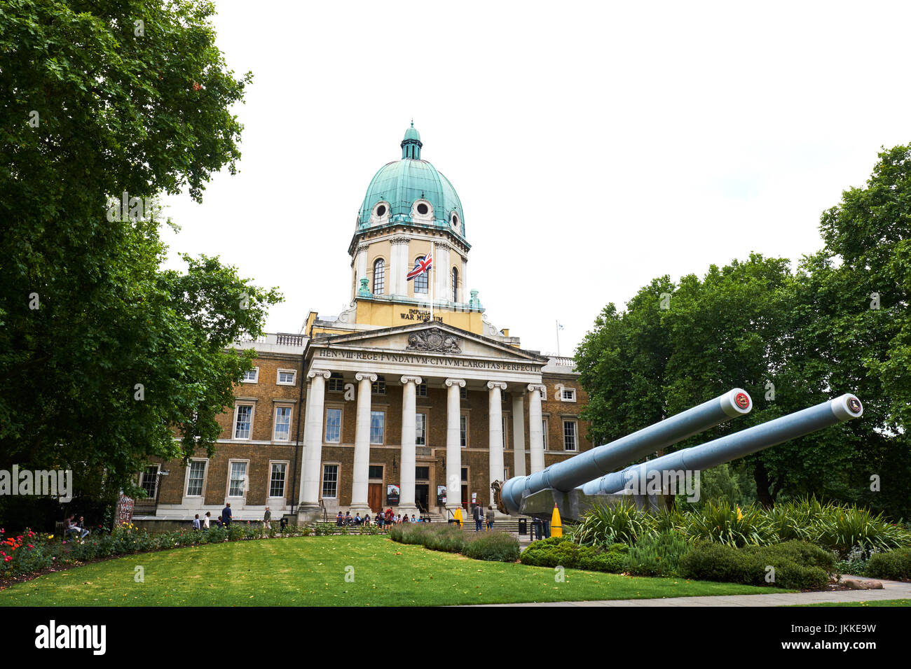 Imperial War Museum, Lambeth Road, London, UK - Stock Image