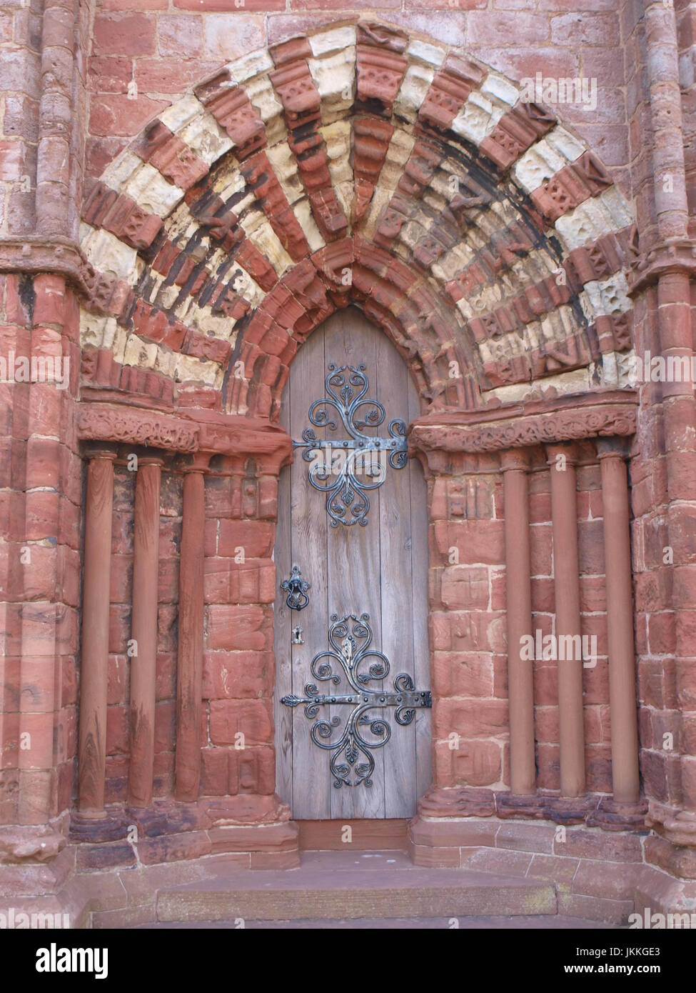 St Magnus Cathedral, Kirkwall, Orkney Stock Photo