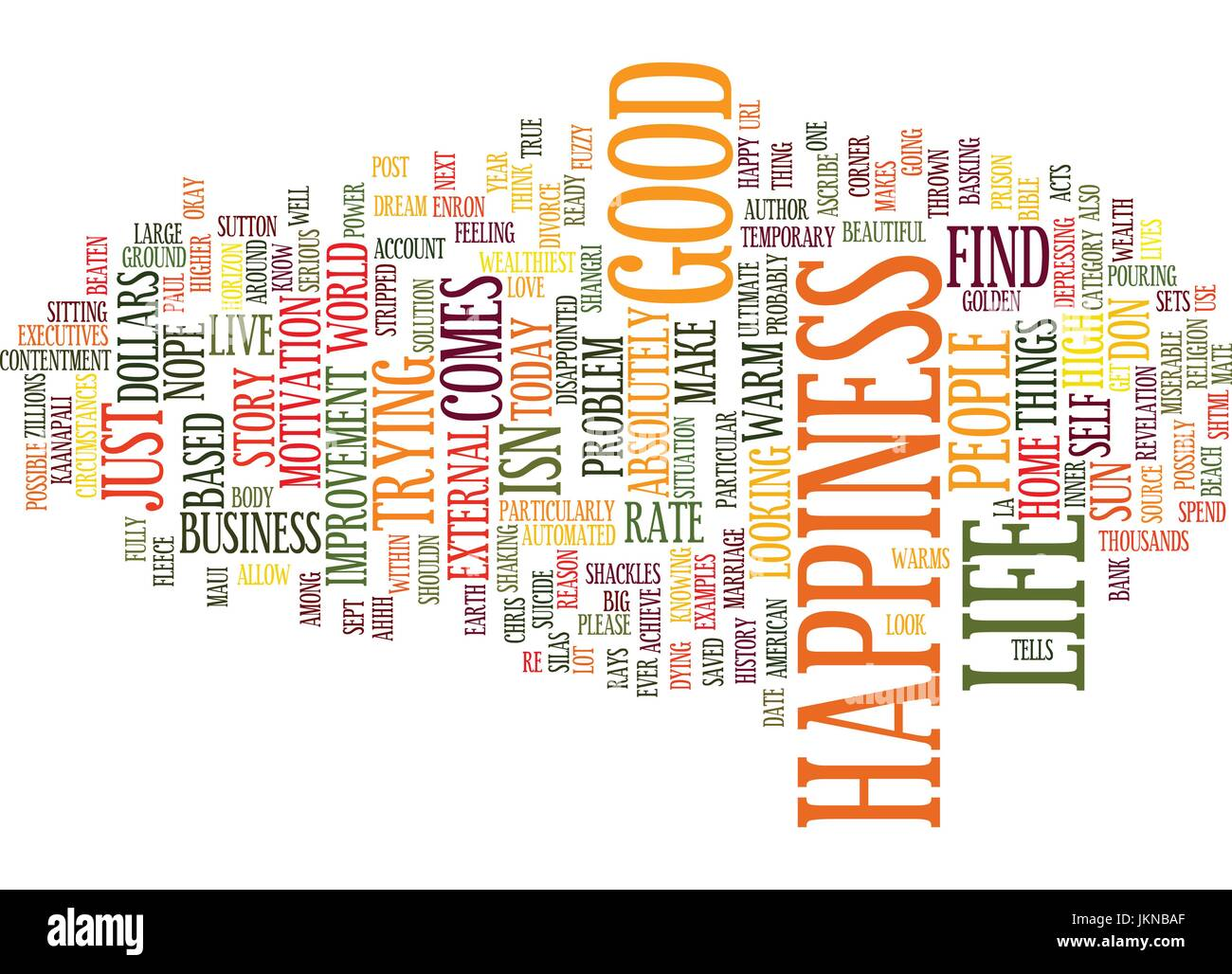LIFE IS GOOD Text Background Word Cloud Concept - Stock Vector