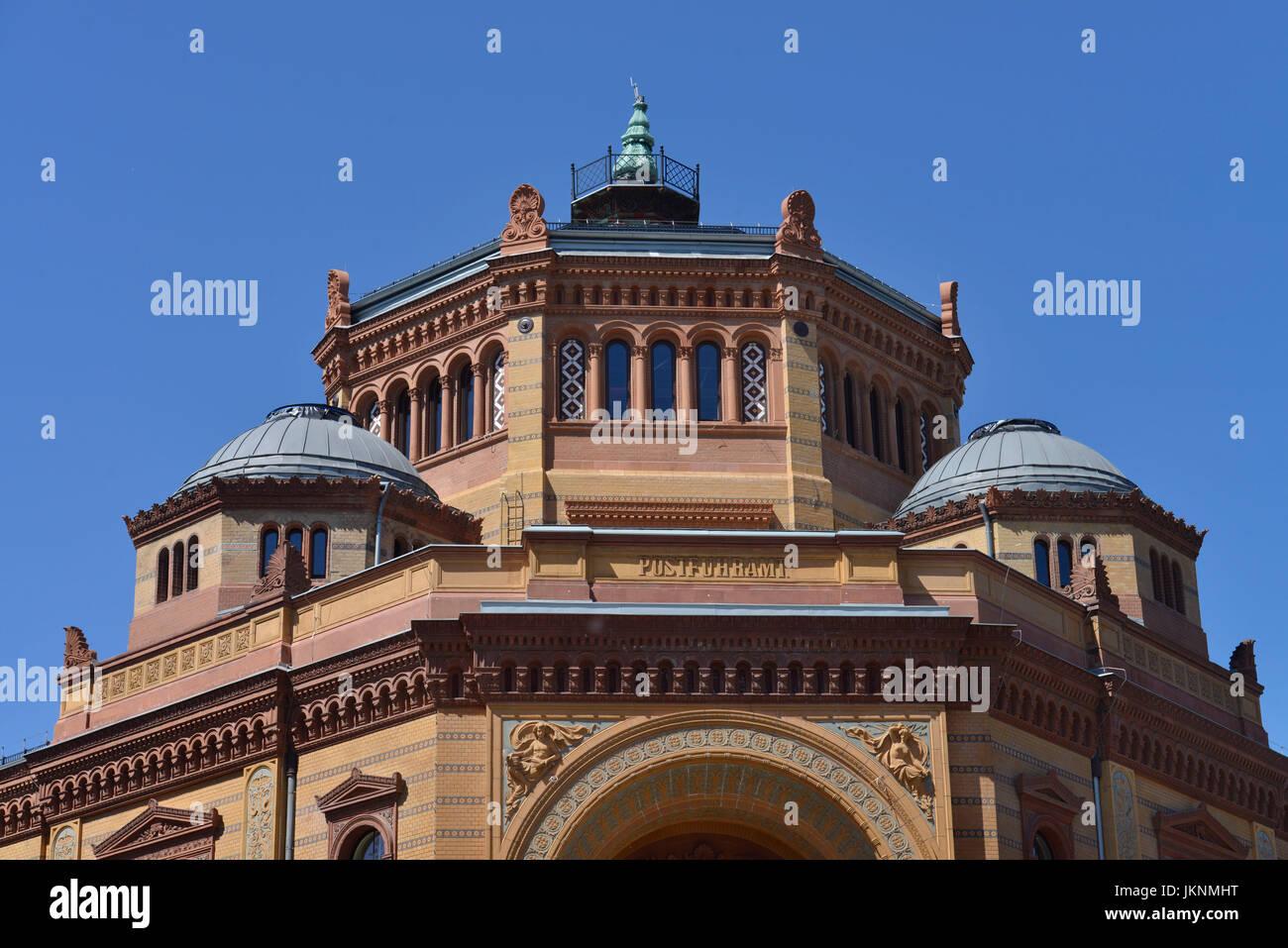 Postfuhramt, Oranienburger street, middle, Berlin, Germany, Oranienburger Strasse, Mitte, Deutschland - Stock Image