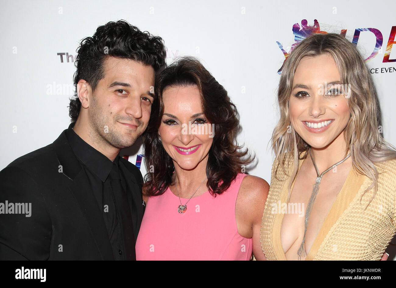 Hollywood Ca July 23 Mark Ballas Shirley Ballas Bc Jean At