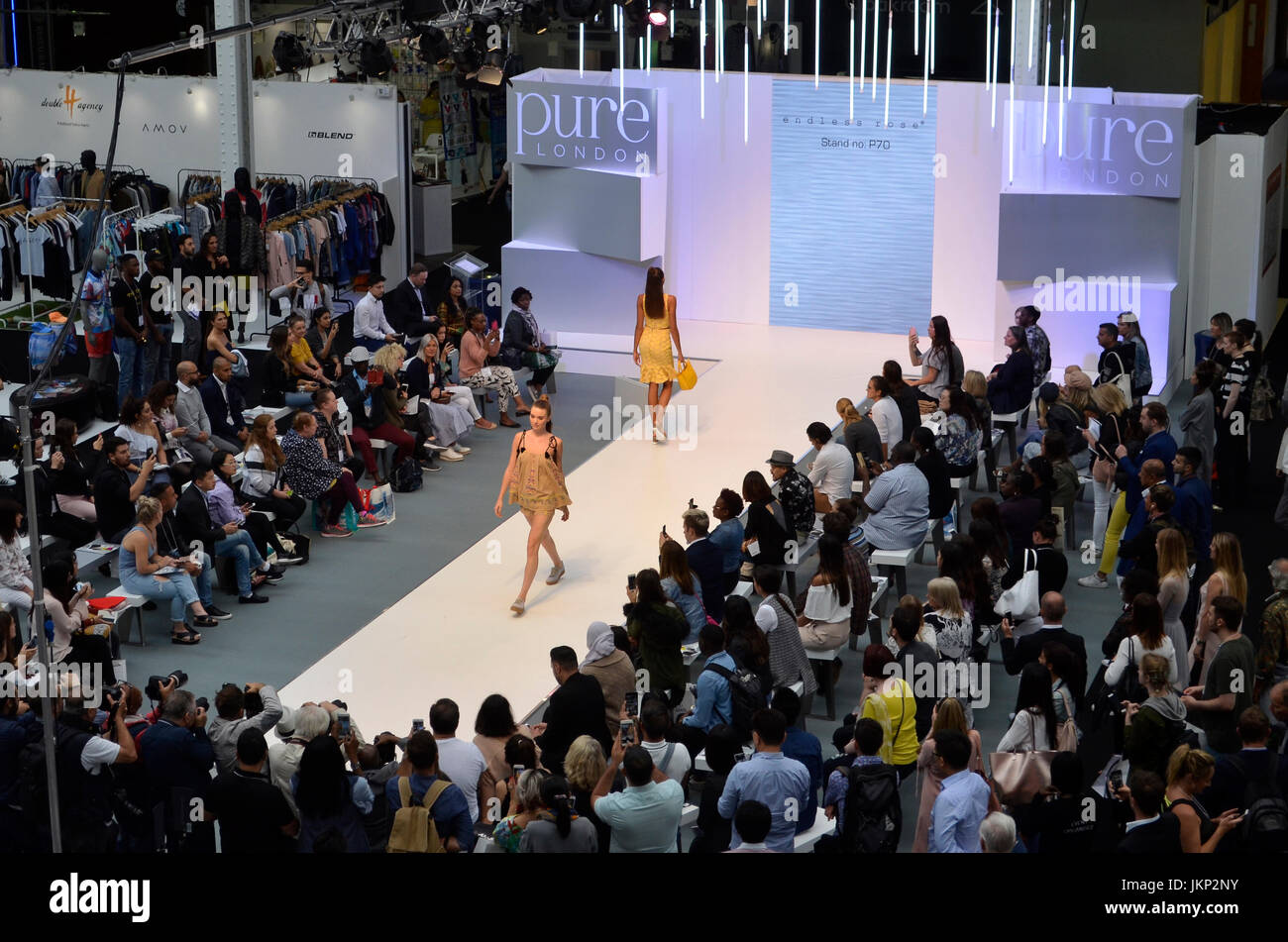 Trade Stands Olympia : Spirit catwalk pure london olympia london uk. pure london the