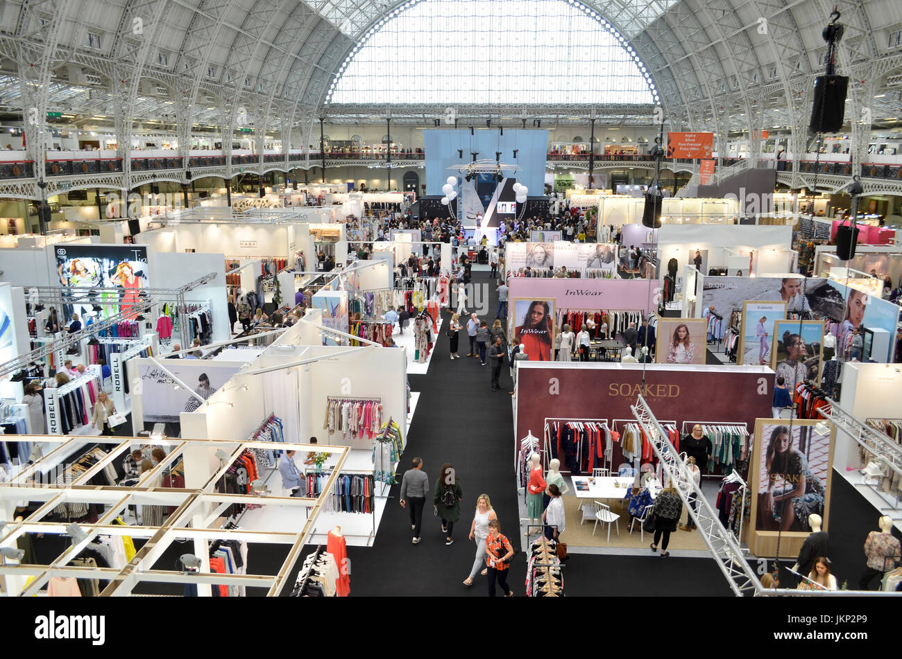 Trade Stands Olympia : Trade stands at pure london olympia london uk. pure london the