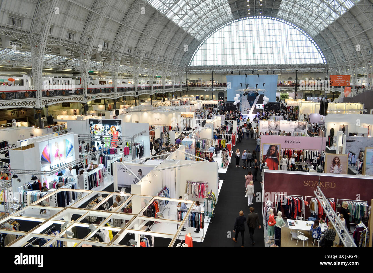 Trade Stands Olympia : Olympia in london stock photos