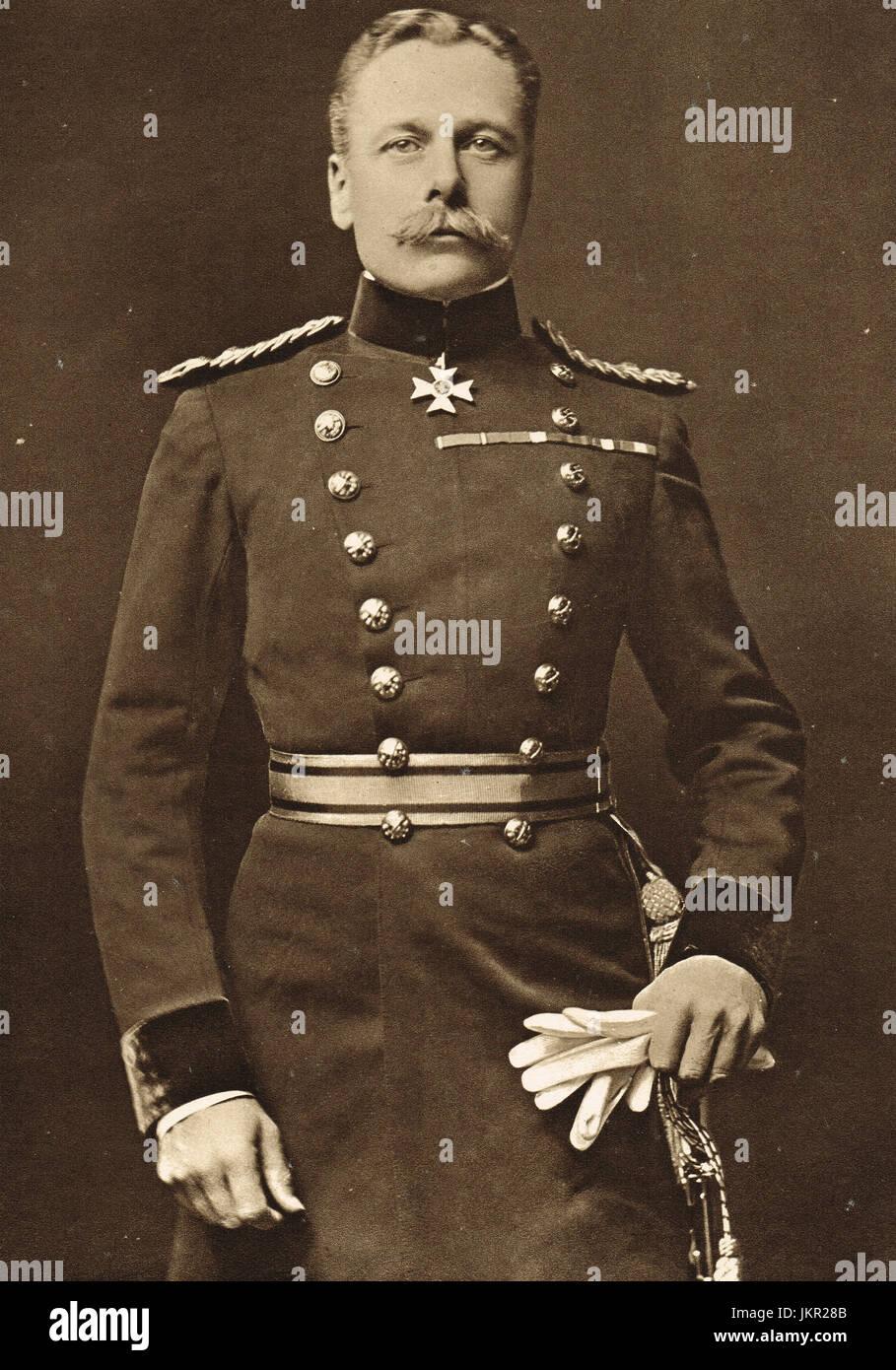 Portrait of Field Marshal Douglas Haig Stock Photo