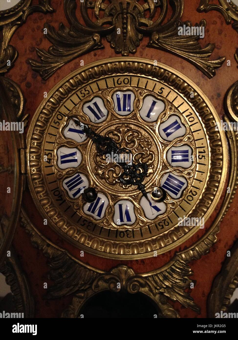 Antique Clock Face - Stock Image