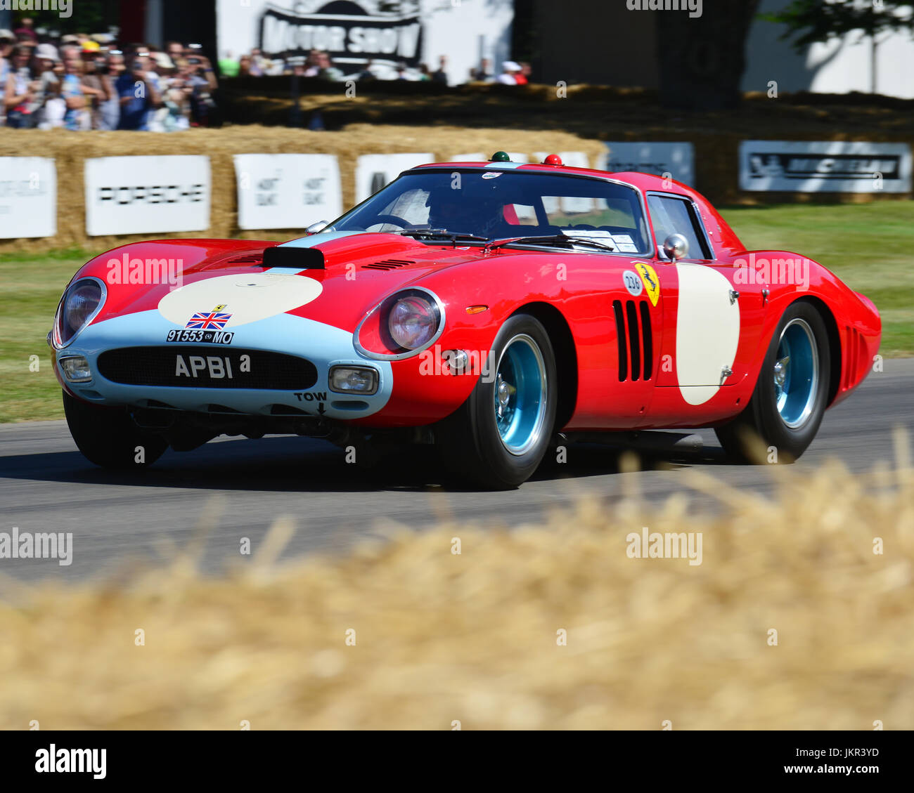 Ferrari 250 GTO-64, Goodwood Festival of Speed, 2017, Peaks of Performance, Motorsports Game Changers,  automobiles, - Stock Image