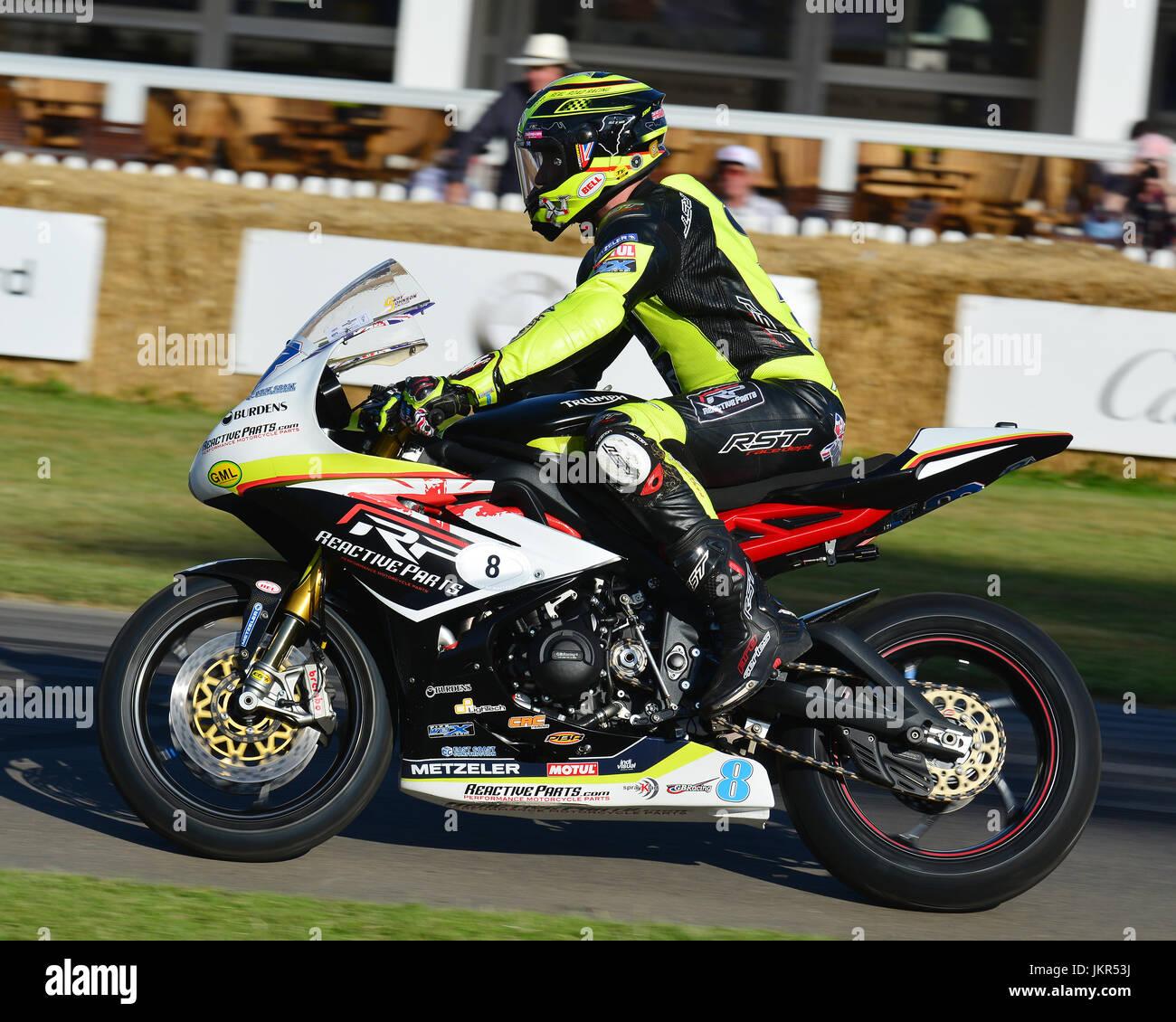Gary Johnson Triumph Daytona 675 Goodwood Festival Of Speed 2017