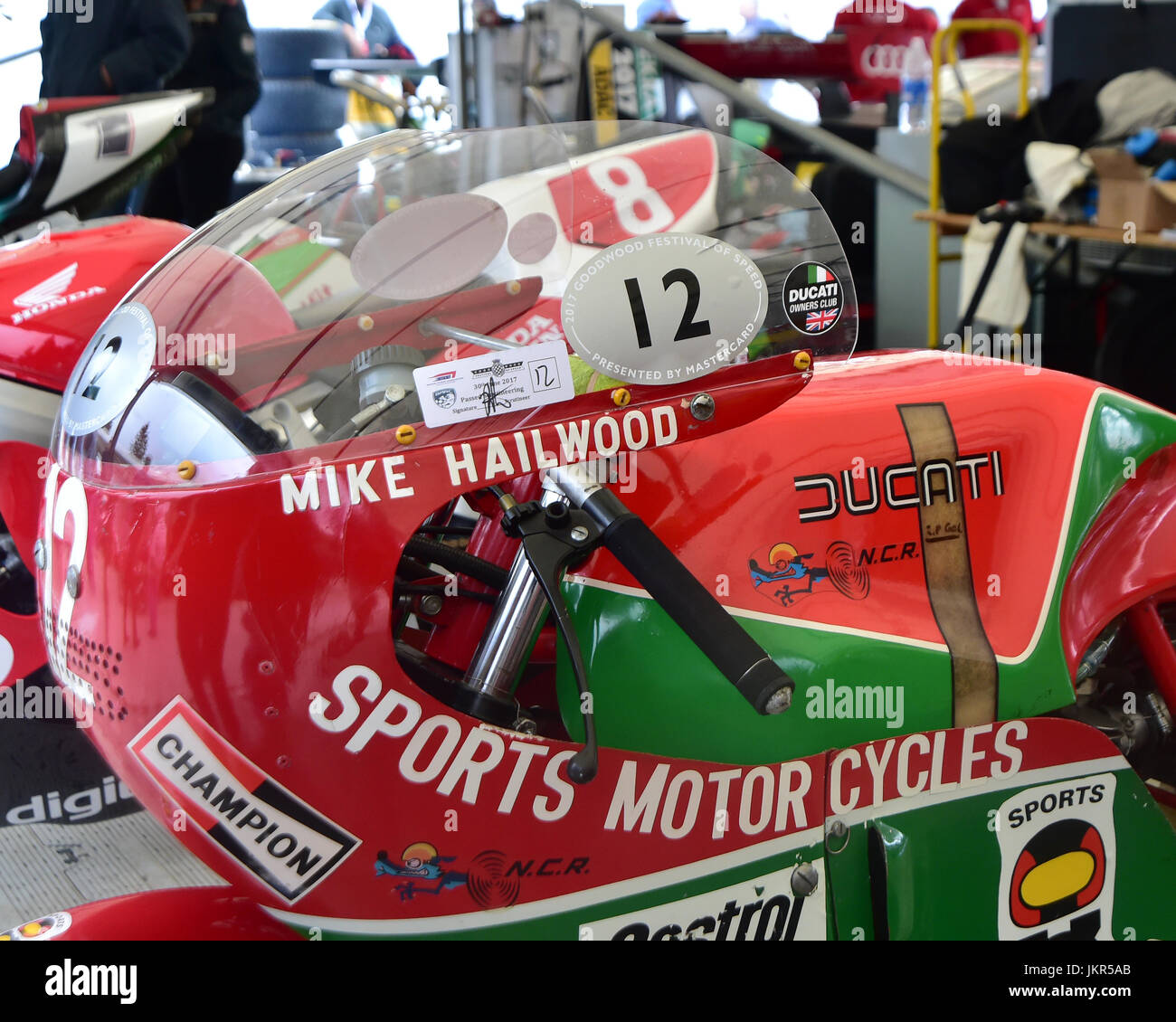 David Hailwood Ducati 900ss Tt Goodwood Festival Of Speed 2017