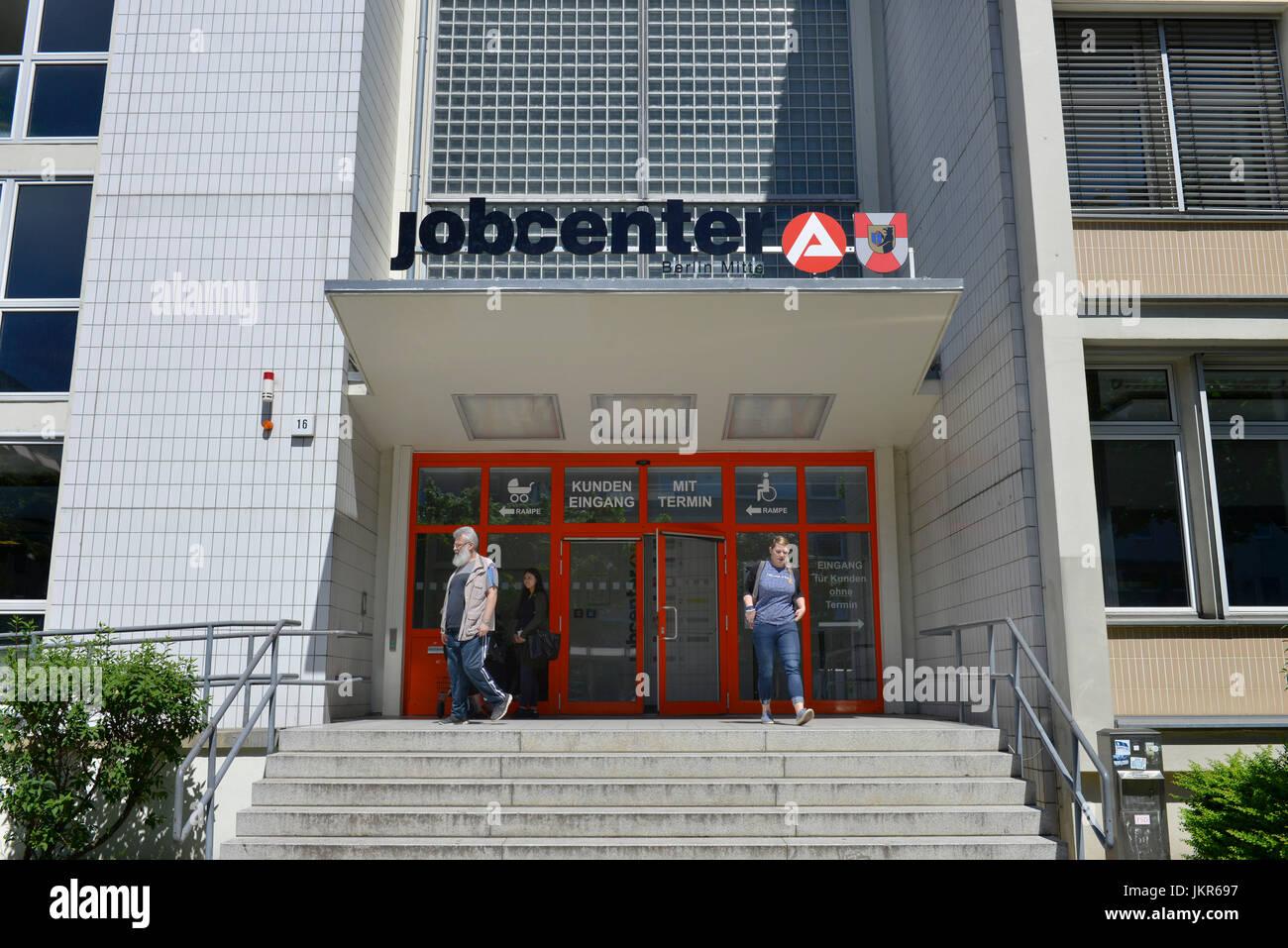 Job centre, M?llerstrasse, Wedding, middle, Berlin, Germany, Jobcenter, Muellerstrasse, Mitte, Deutschland - Stock Image