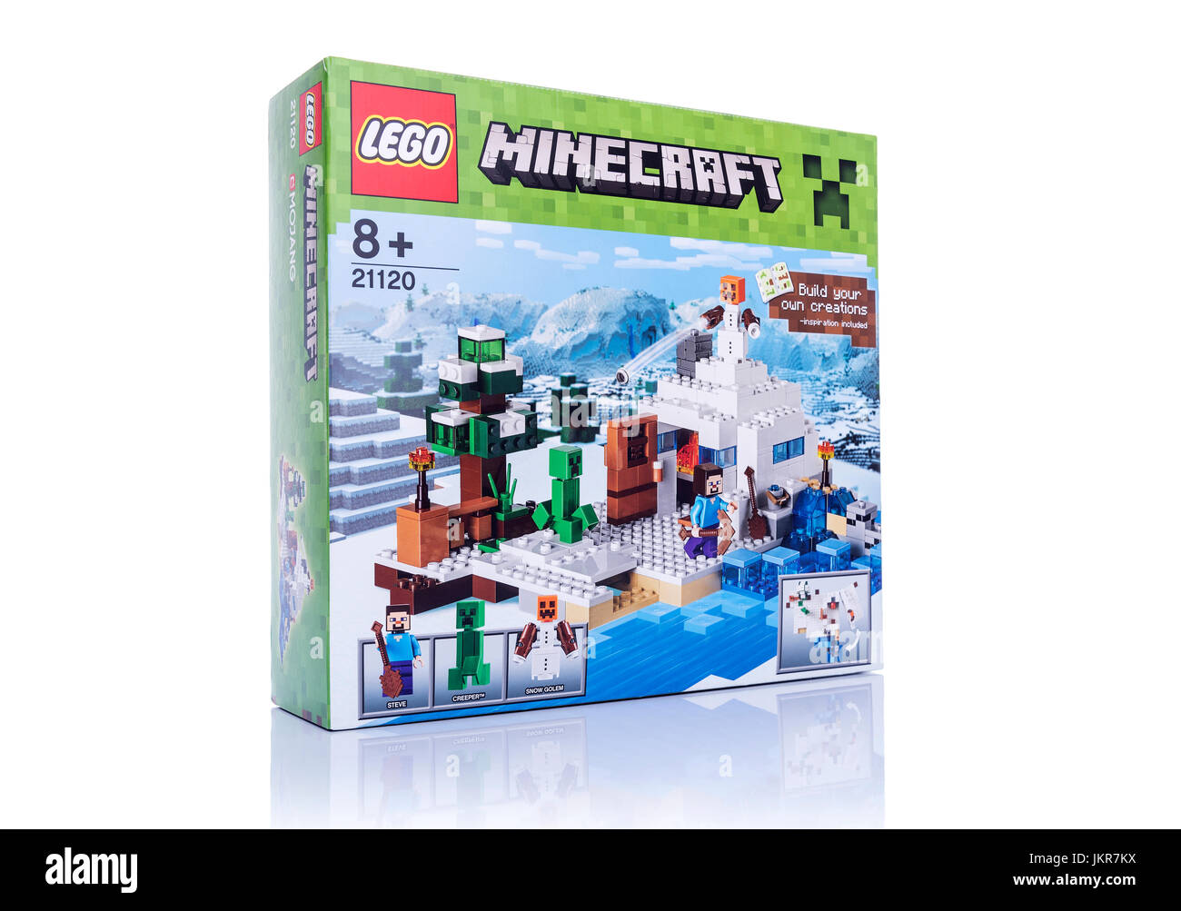 Computer game Minecraft. Editorial, illustration. - Stock Image