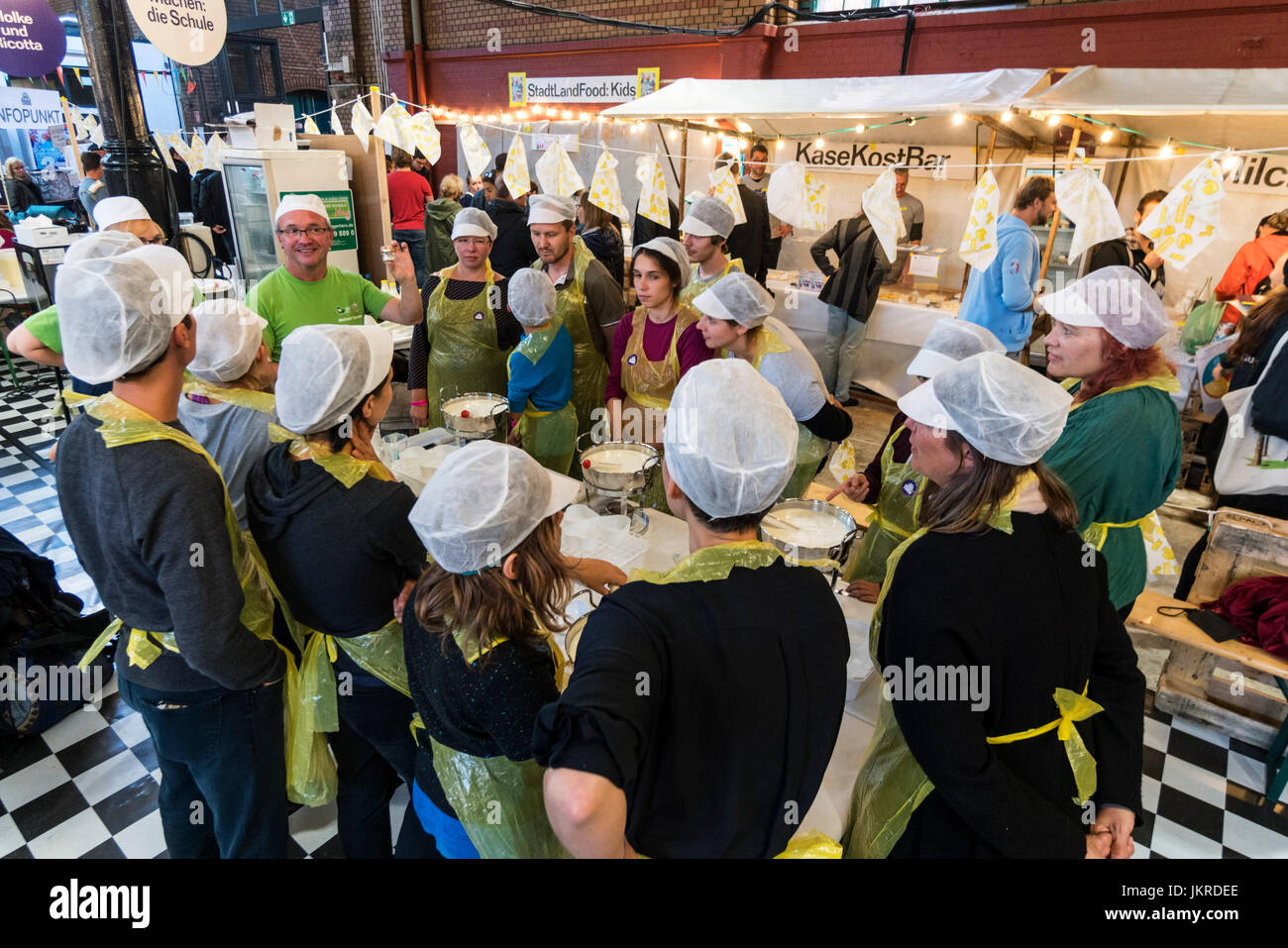 Markthalle 9, Food workshop, Kreuzberg, SO 36, Berlin - Stock Image