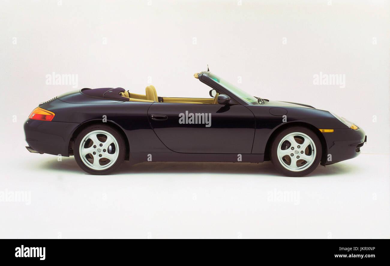 1998 Porsche 911 Carrera Cabriolet - Stock Image