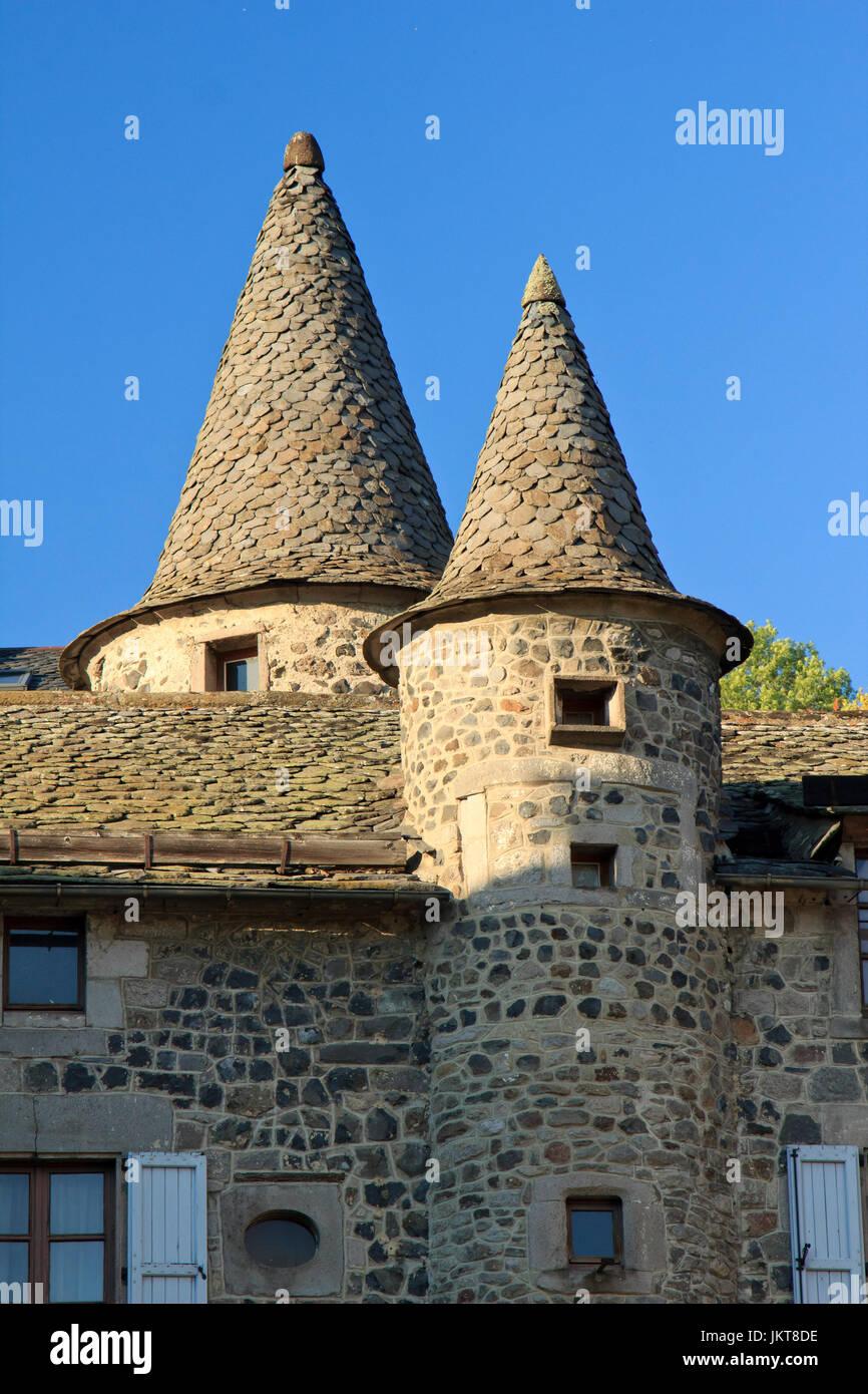 Maison Toit De France france, cantal (15), murat, toits de la maison de la faune