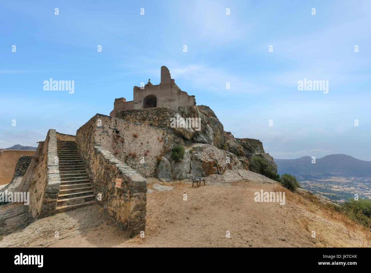 Corbara, Corsica, France - Stock Image