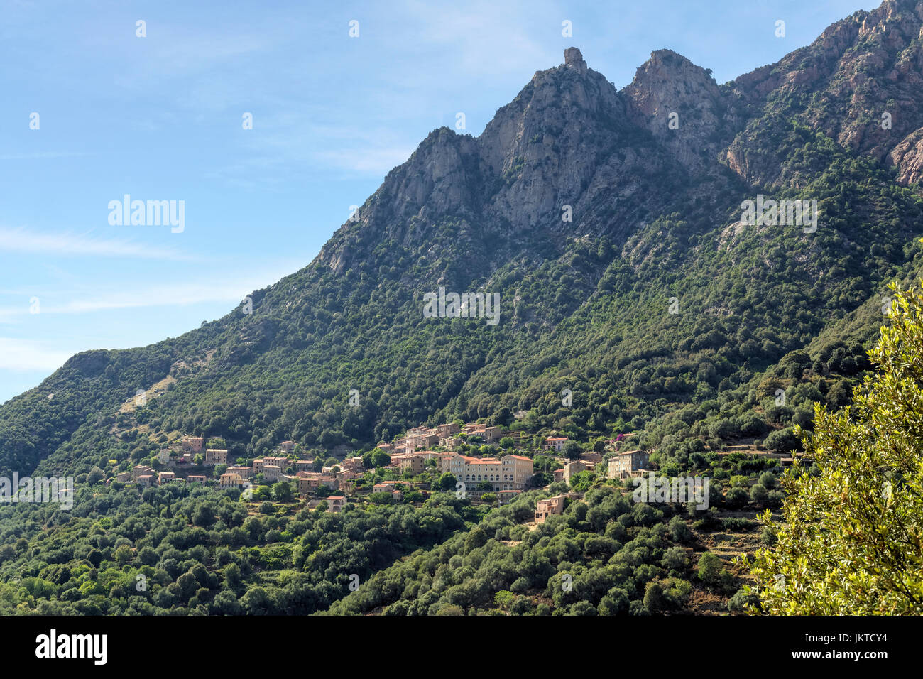 Ota, Corsica, France - Stock Image