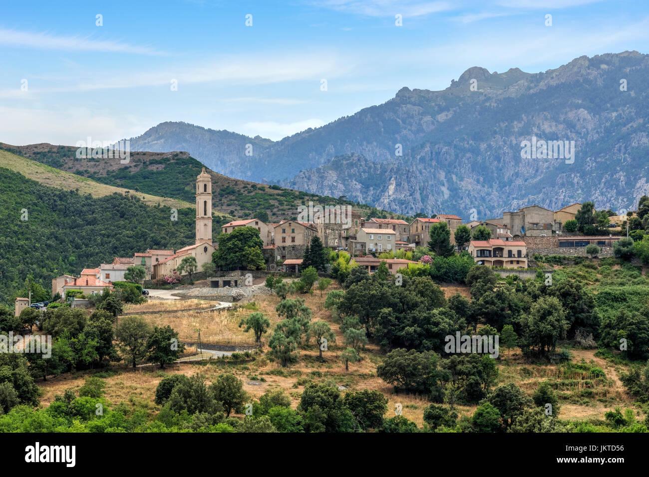 Soveria, Haute-Corse, Corsica, France - Stock Image