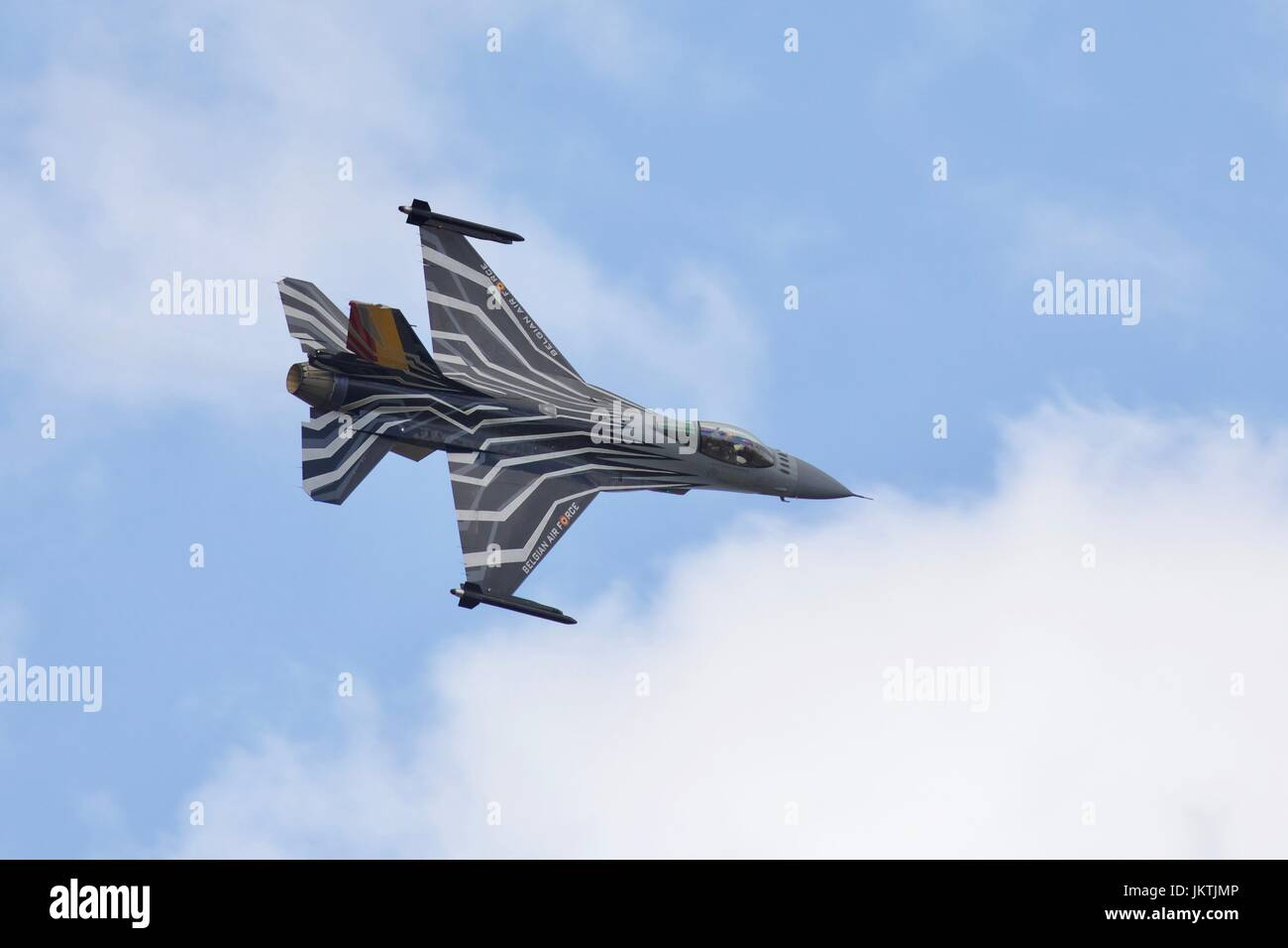 Belgian Air Component F-16AM Fighting Falcon - Stock Image