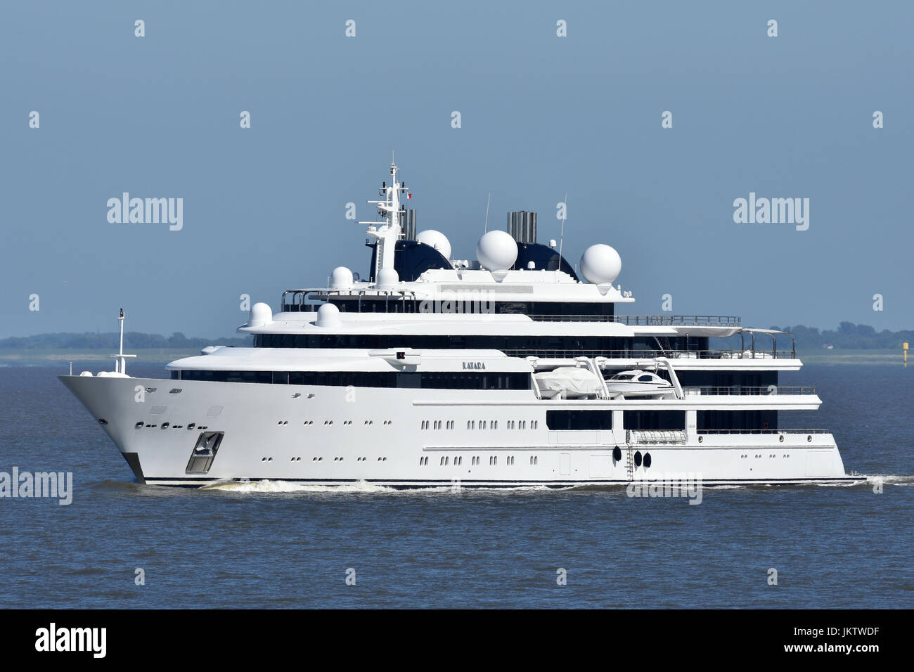 Superyacht Katara Stock Photo 149908235 Alamy