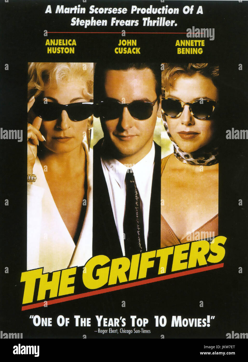 THE GRIFTERS 1990 Miramax Films production - Stock Image