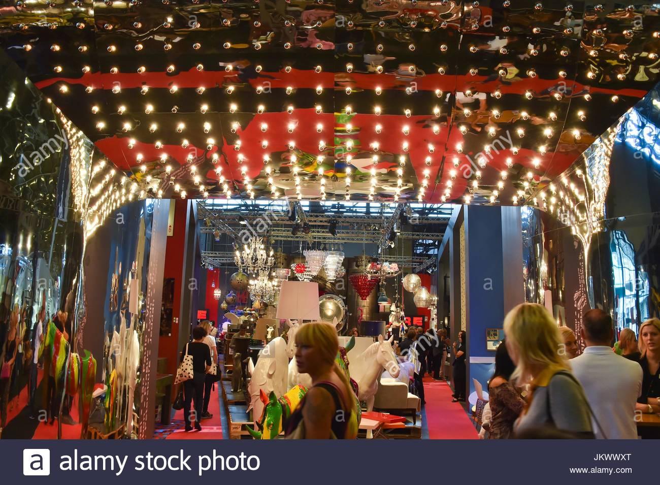 The M&O Salon International Festival. Maison & Objet Salon Stock ...