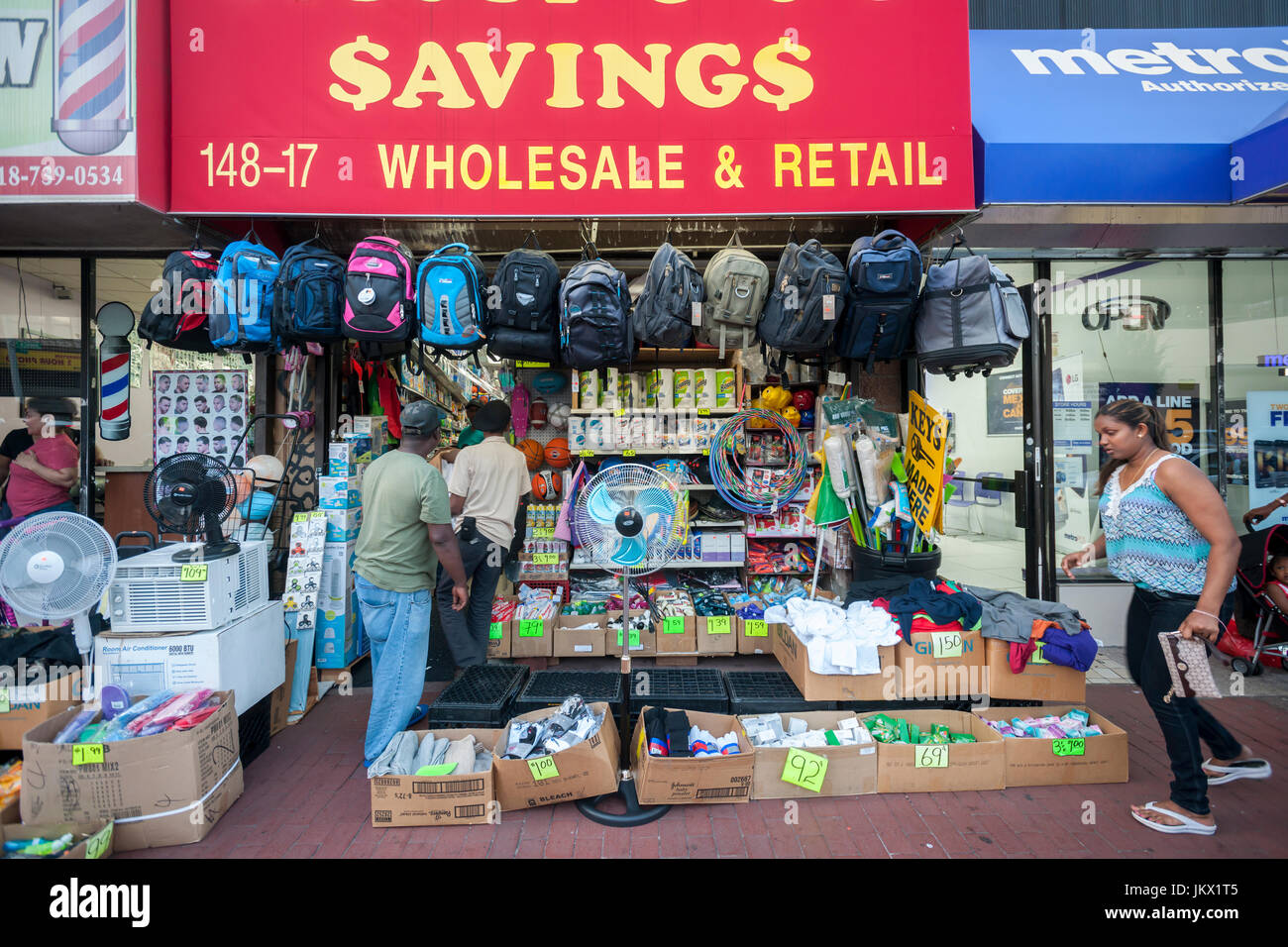 99 Cent Store In The CBD Of Jamaica Avenue And Sutphin Boulevard Neighborhood Queens New York On Tuesday July 18 2017