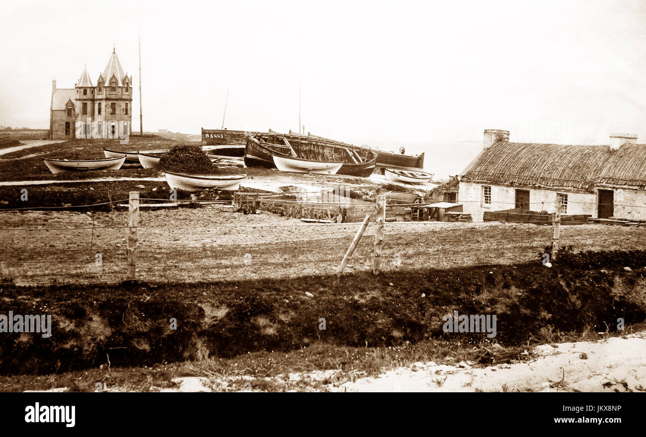 John O' Groats, Scotland, Victorian period - Stock Image