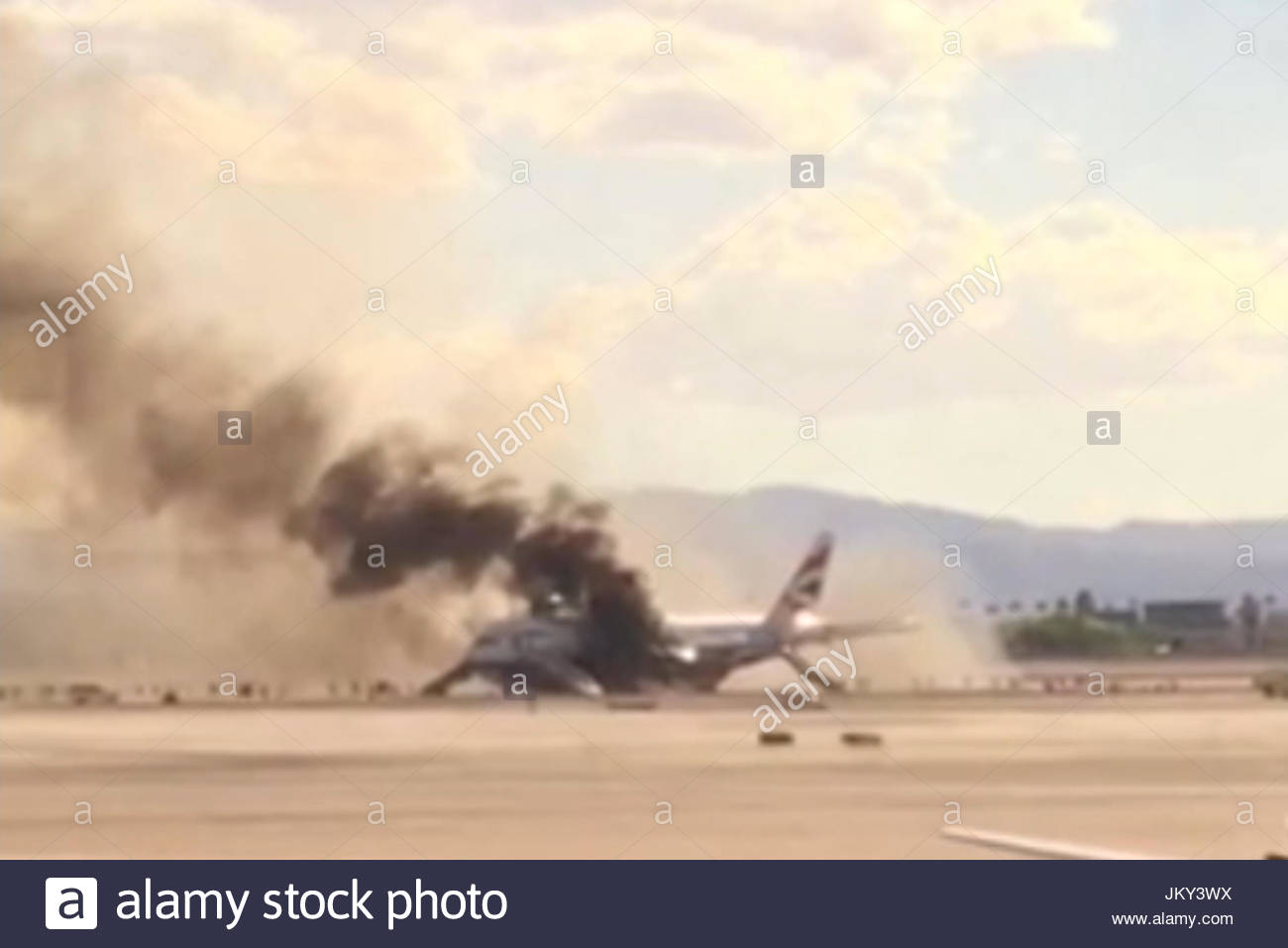 British Airways flight 2276. British Airways flight 2276 on fire on the  runway at Las Vegas airport on September 8, 2015. The incident occurred  shortly ...
