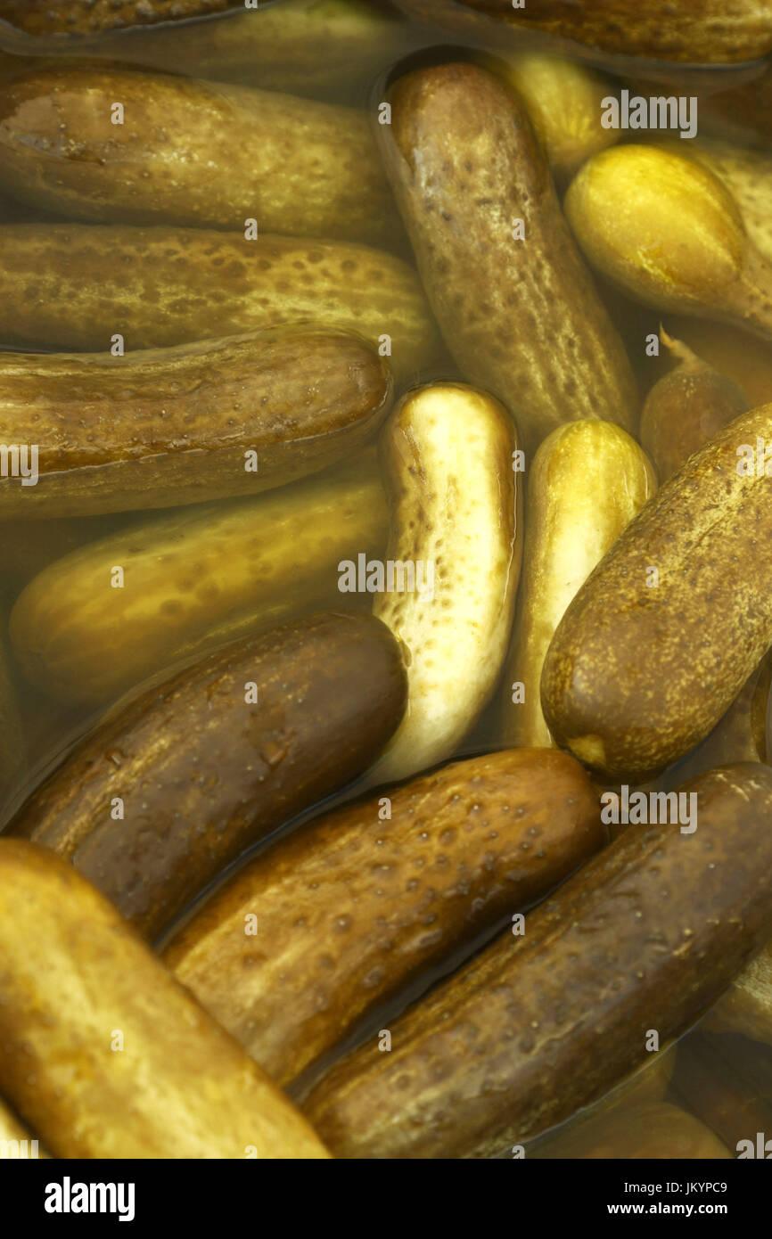 Kosher dill pickles - Stock Image