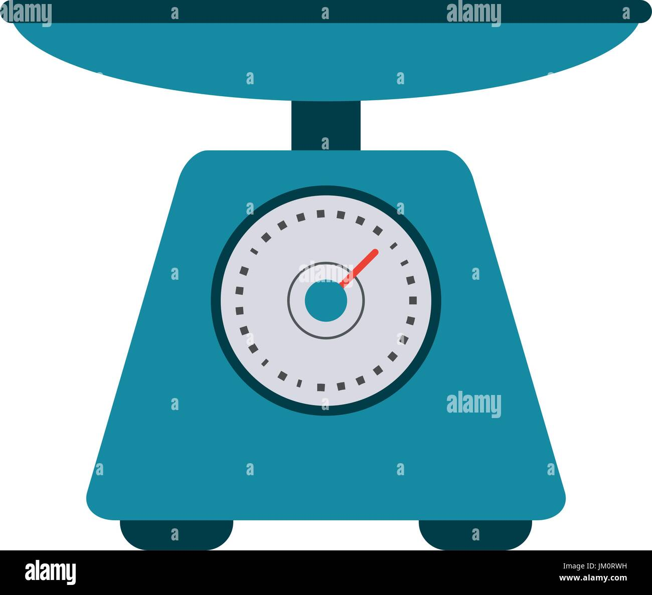 Food Weighing Scales Stock Vector Images - Alamy