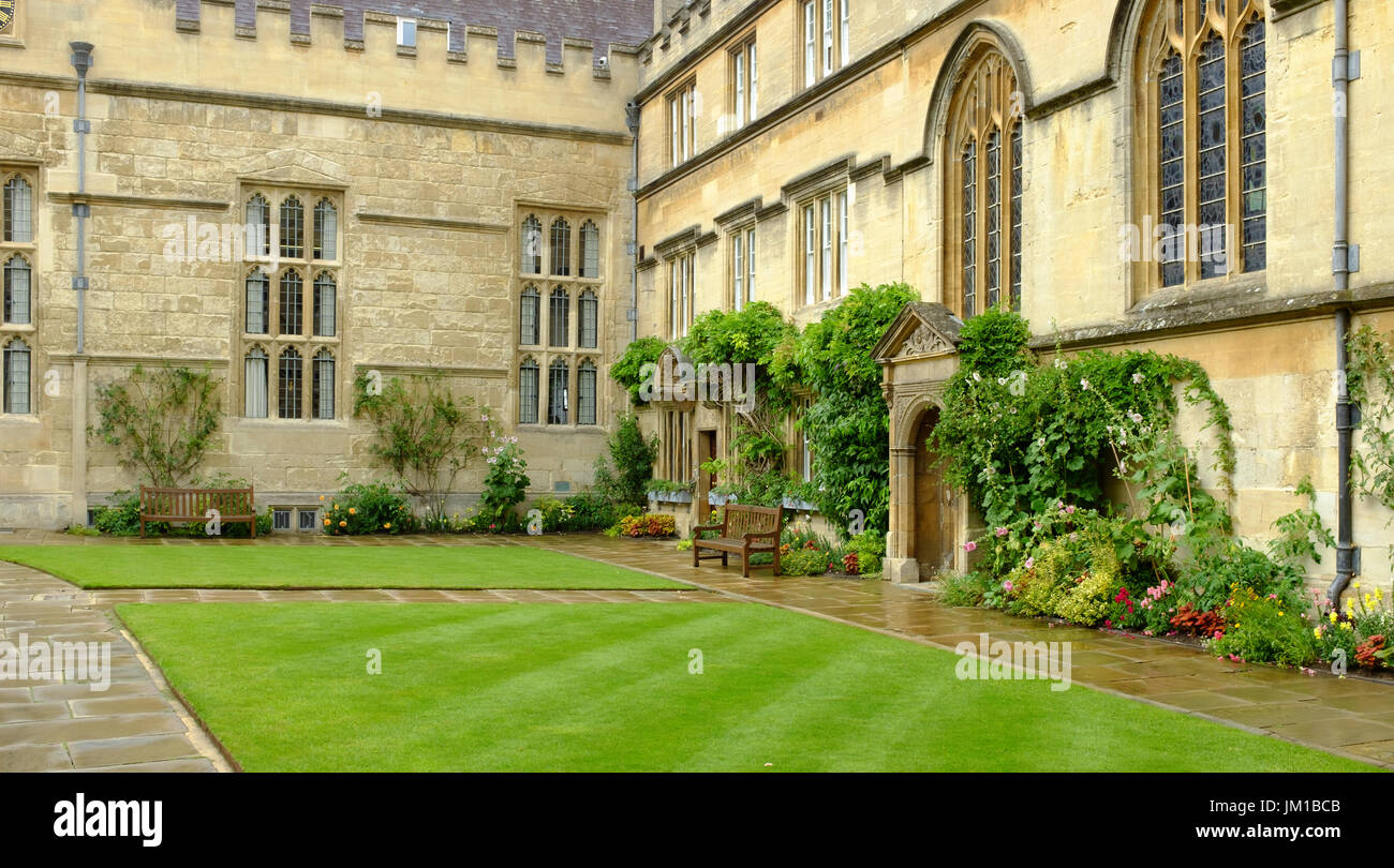 Jesus College, Oxford Stock Photo