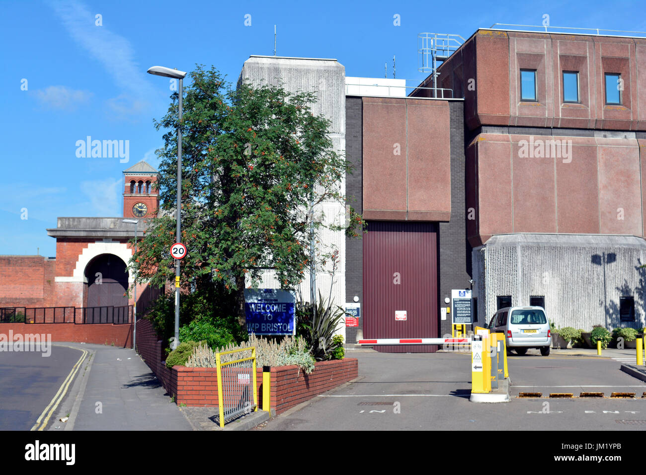 Bristol, UK. 25th July, 2017. Breaking..Total chaos at Horfield Prison in Bristol, outbreak of cockroaches, drugs, - Stock Image