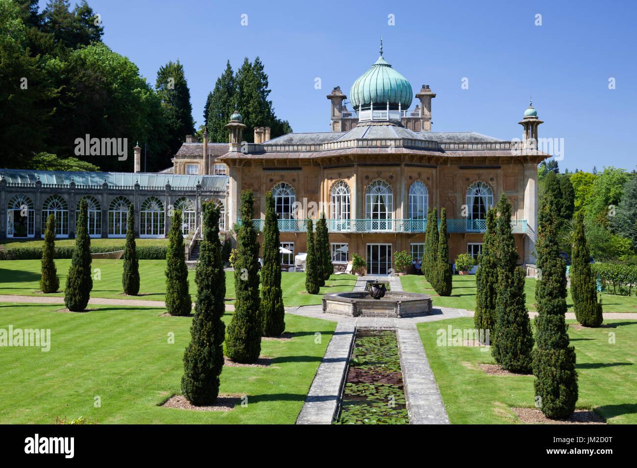 Sezincote House in mughal style, Sezincote, Cotswolds, Gloucestershire, England, United Kingdom, Europe - Stock Image