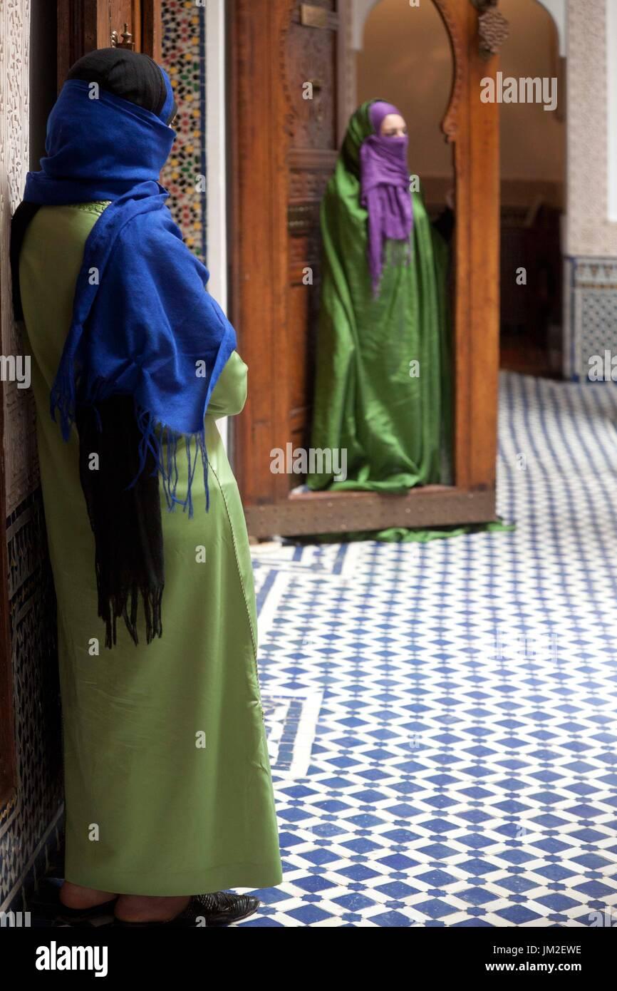 Muslim Women, - Stock Image
