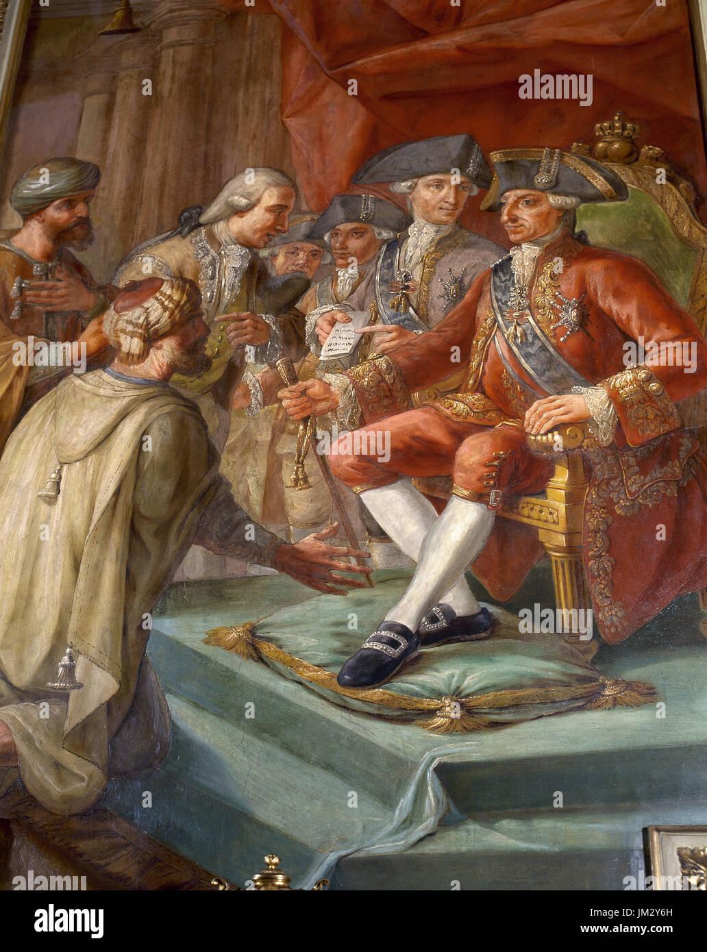 foto de Charles III (1716-1788). King of Spain. Peace between the spanish ...