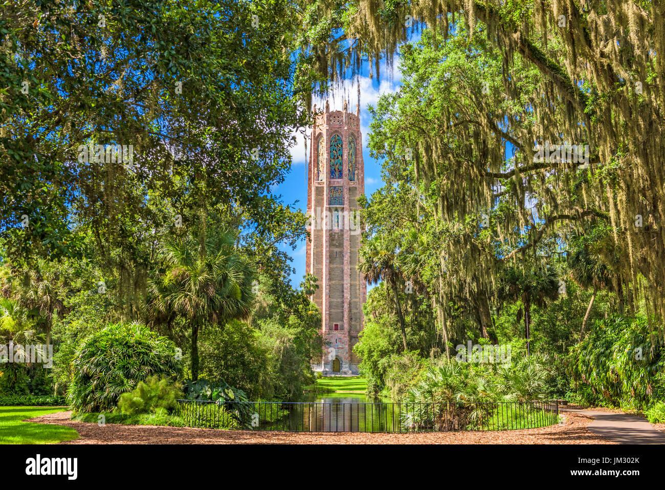 Lake Wales, Florida, USA at Bok Tower Gardens. - Stock Image