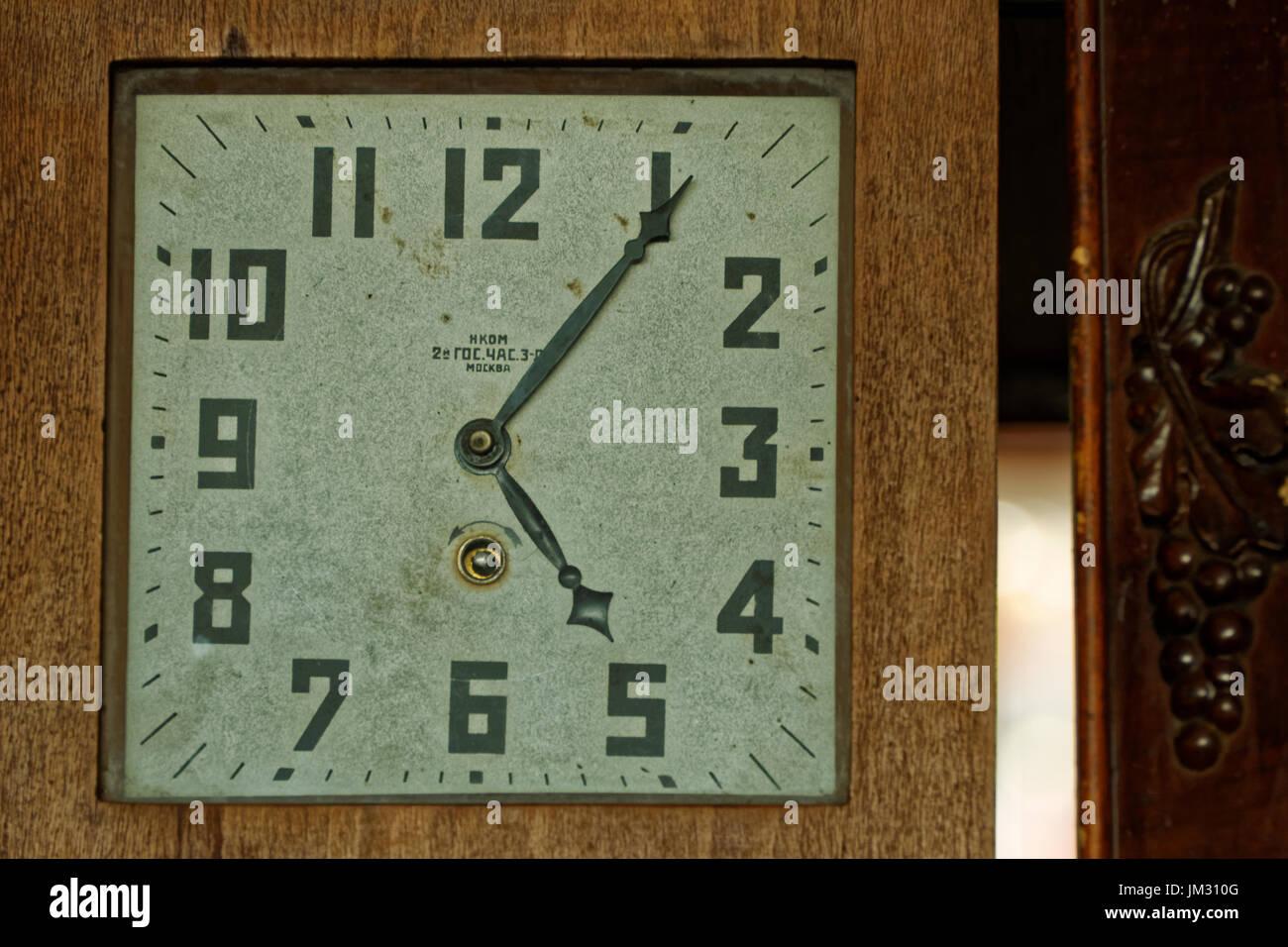 Photo old time clocks - Stock Image