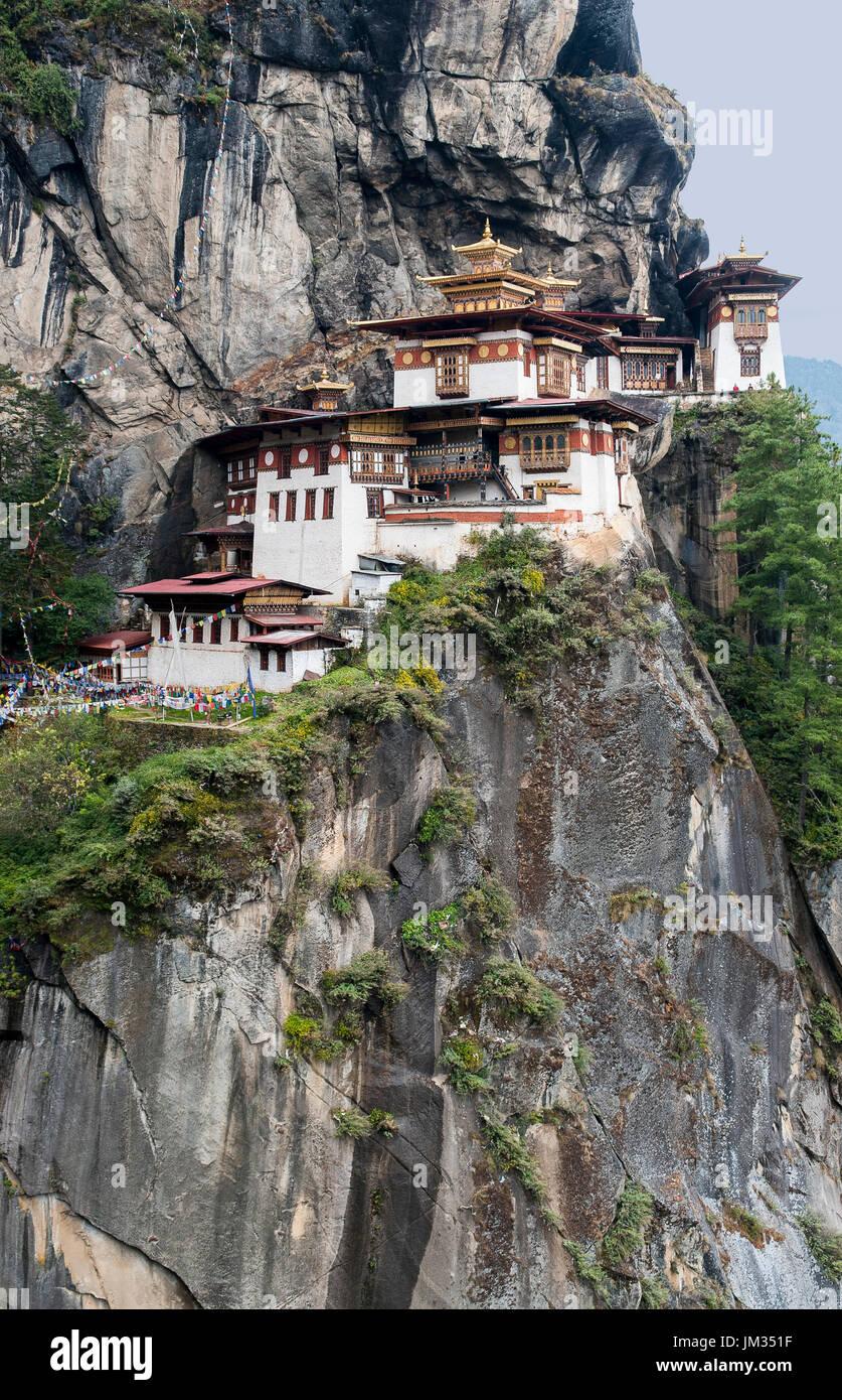 Taktsang Palphug Monastery - Bhutan - Stock Image