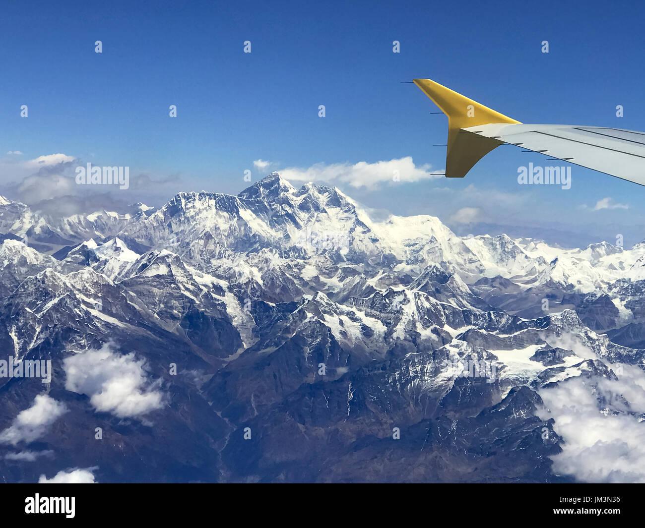 Bhutan.. Himalayas. - Stock Image