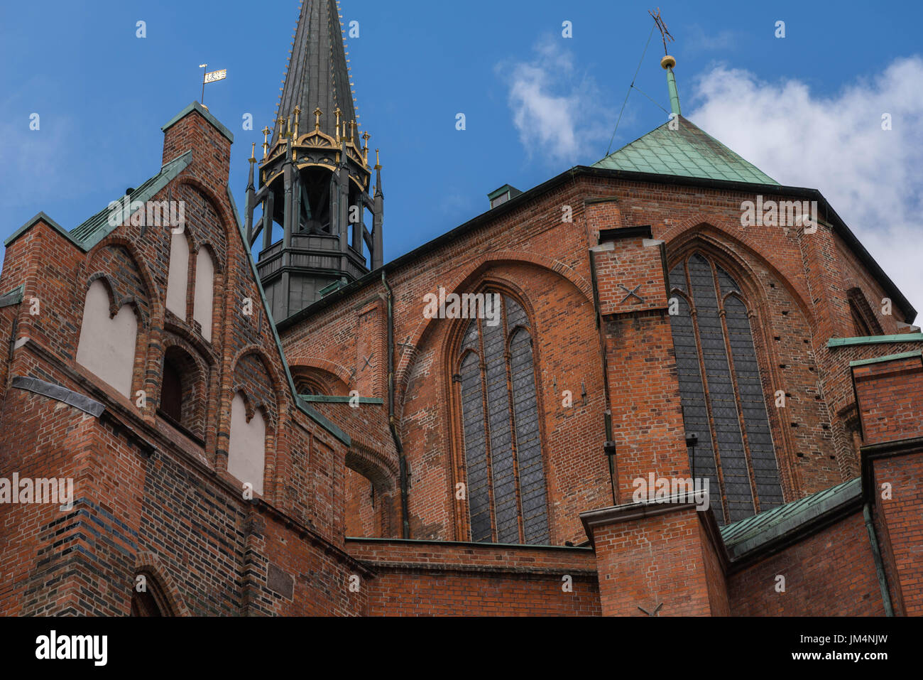 St. Mary´s Church, Hanseatic town of Lubeck, UNESCO World Heritage, Baltic Sea, Schleswig-Holstein, Germany, Europe - Stock Image