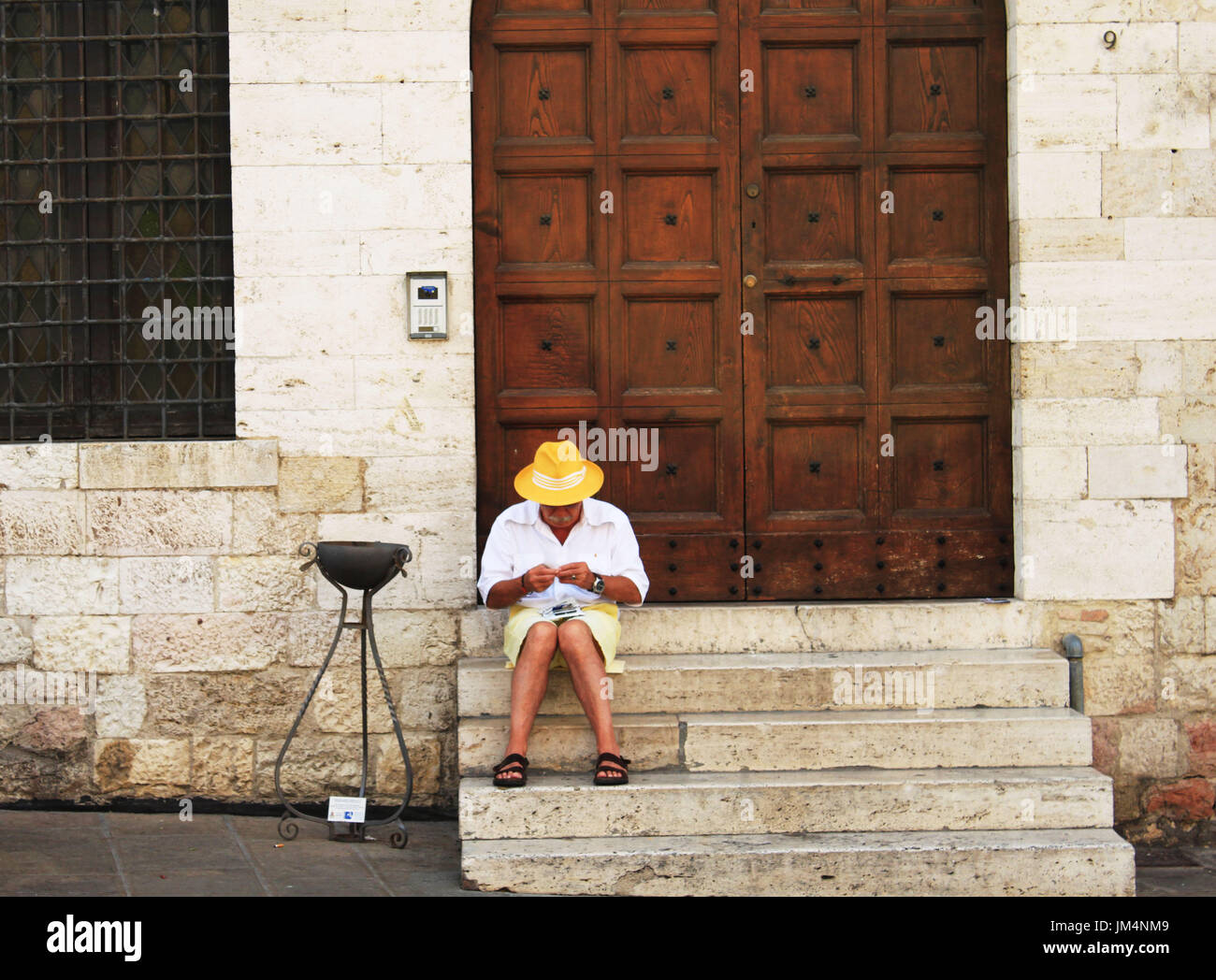 Summer holiday in Italy - Stock Image