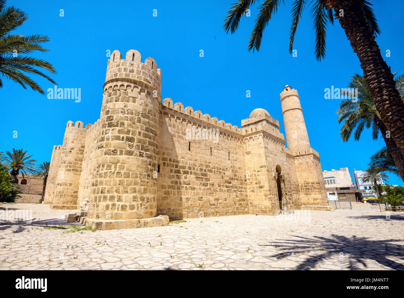 View of ancient fortress in Sousse. Tunisia, North Africa - Stock Image