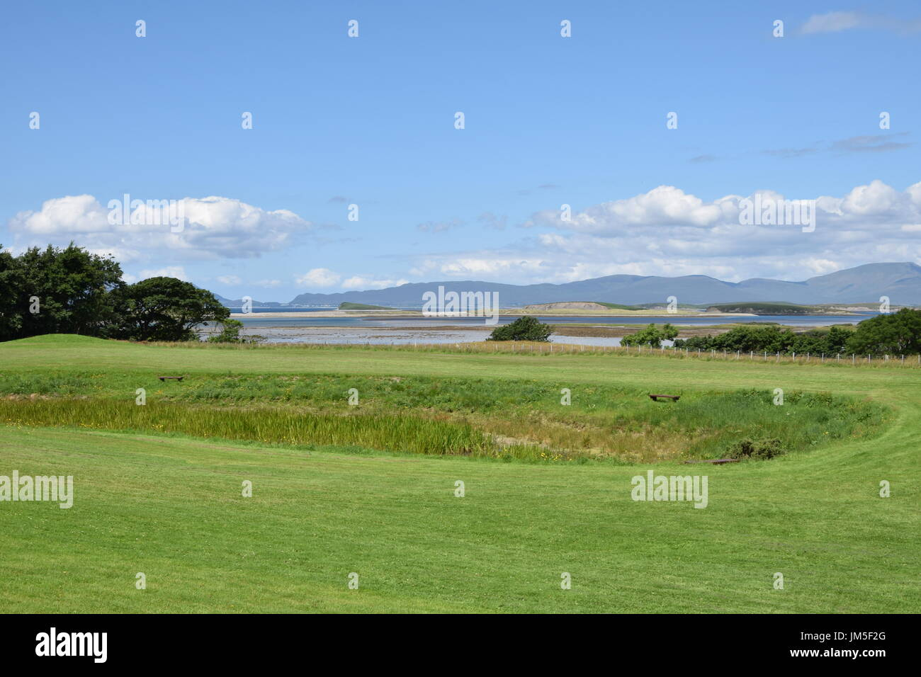 Clew Bay in the County Mayo, Ireland - Stock Image