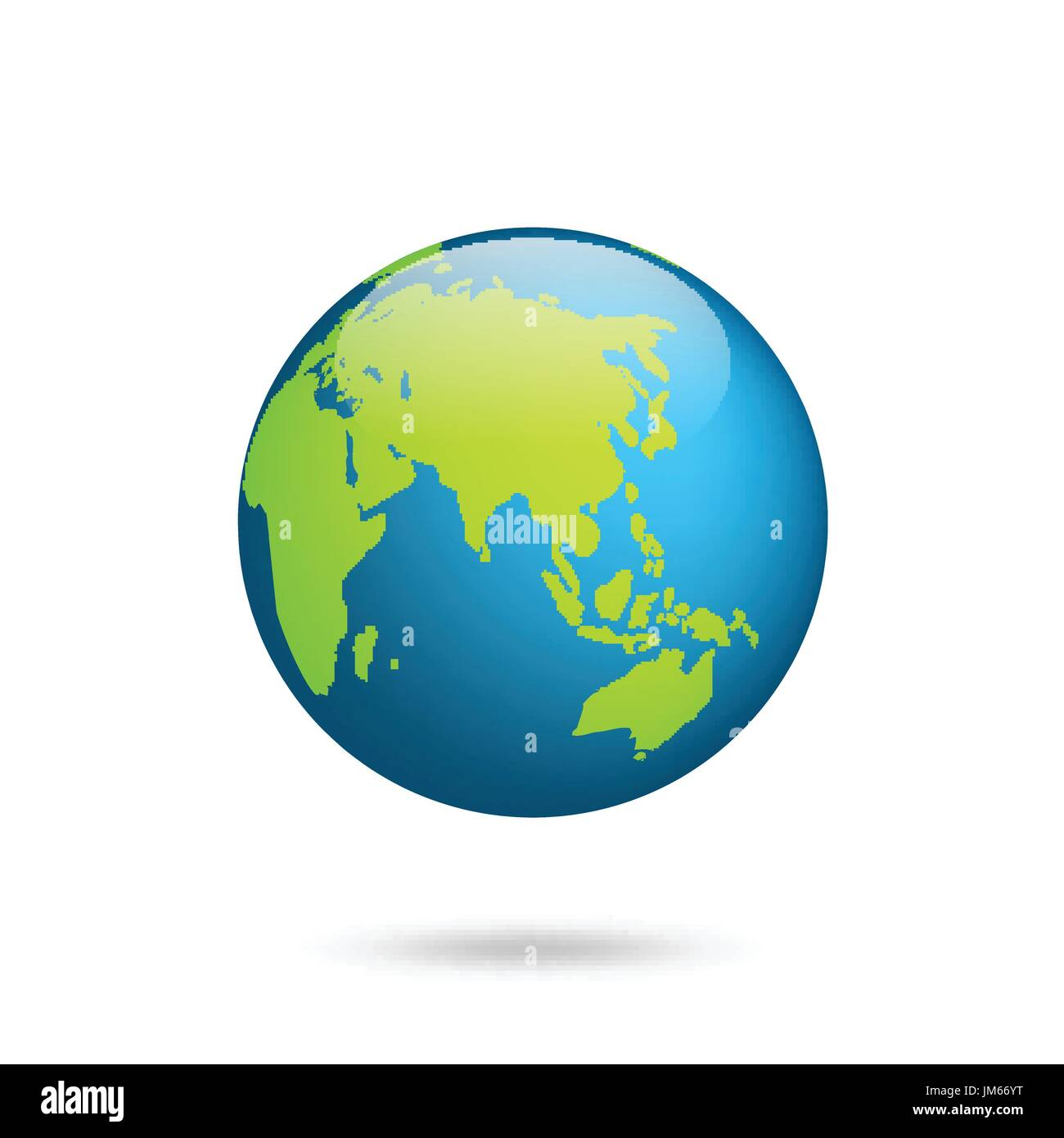 Earth globe world map set planet with continentsrica asia stock world map set planet with continentsrica asia australia europe north america and south america gumiabroncs Choice Image