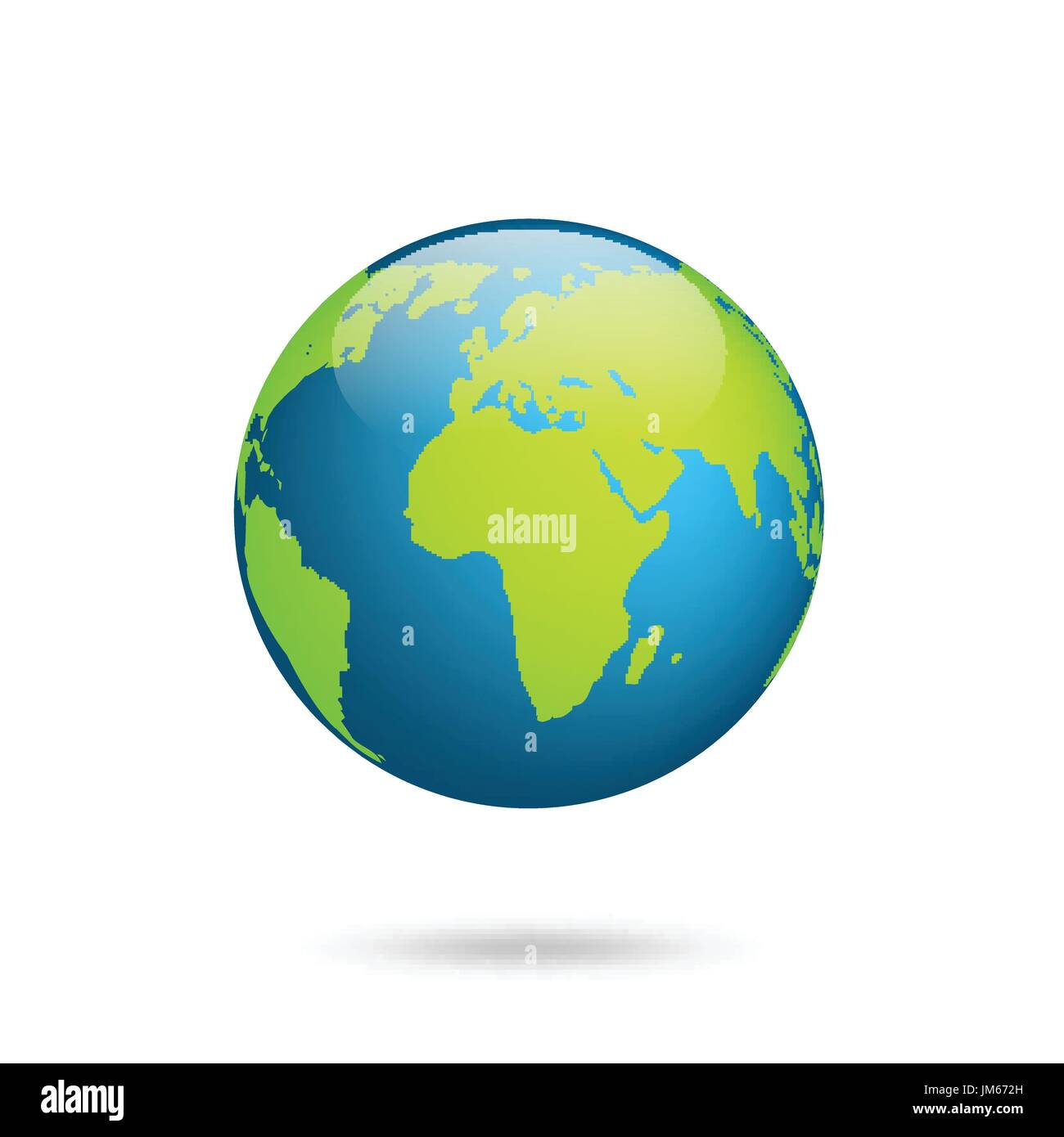 Earth globe world map set planet with continentsrica asia stock world map set planet with continentsrica asia australia europe north america and south america gumiabroncs Image collections