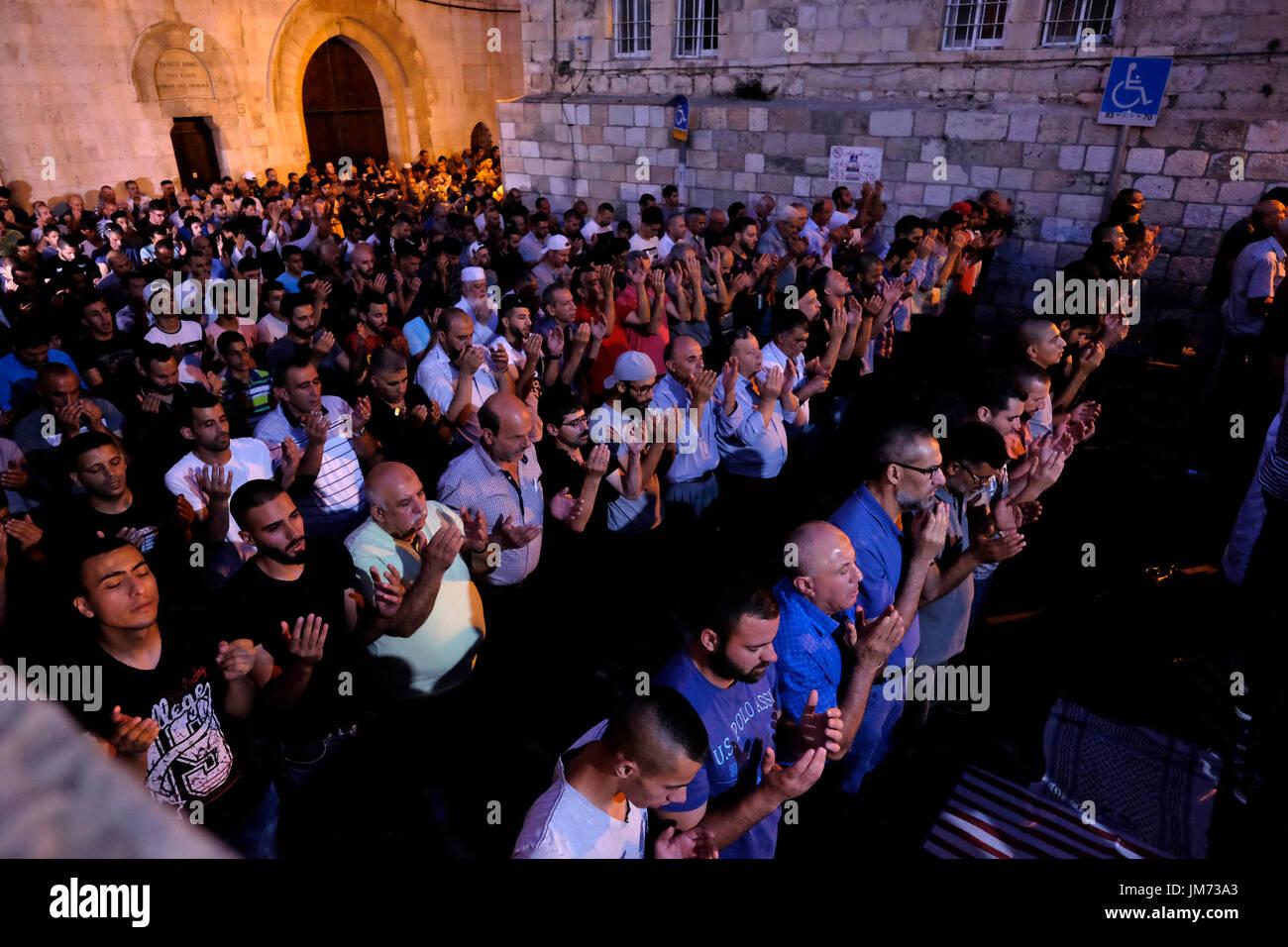 Jew Detector: Temple Mount El Aqsa Mosque Stock Photos & Temple Mount El