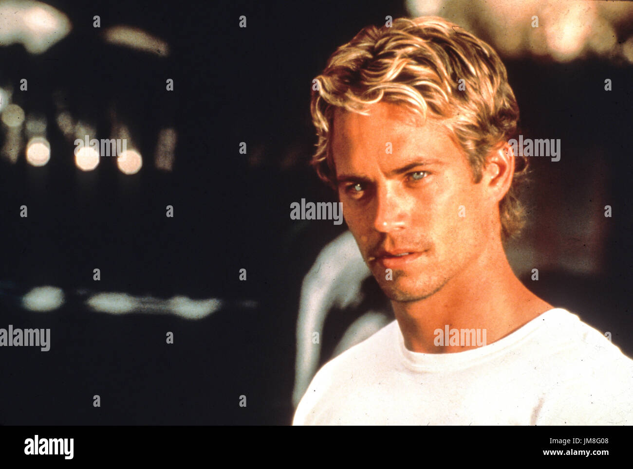 fast and the furious, paul walker, 2001 - Stock Image